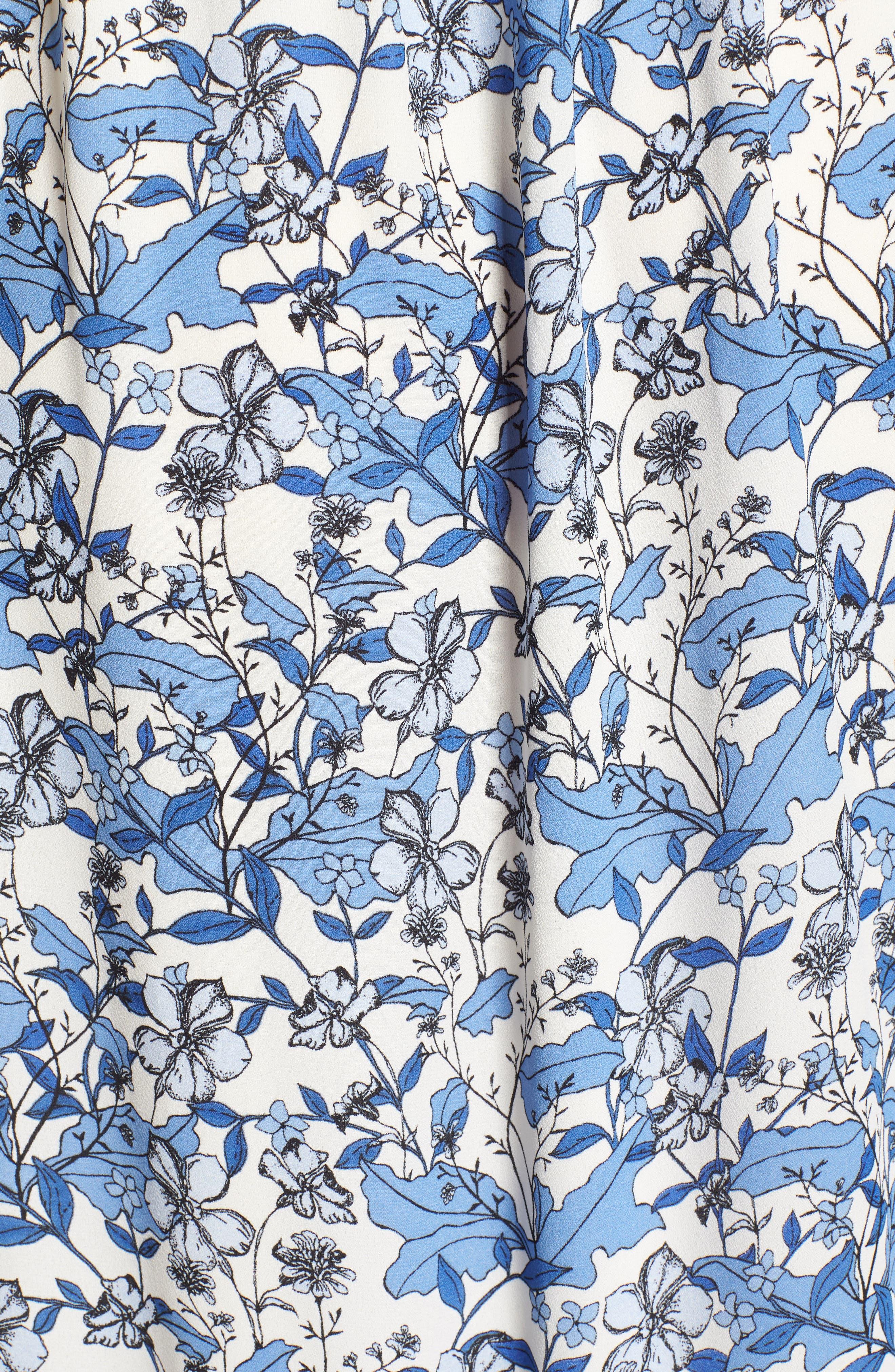 Ivy Forest Maxi Dress,                             Alternate thumbnail 6, color,                             Antique White