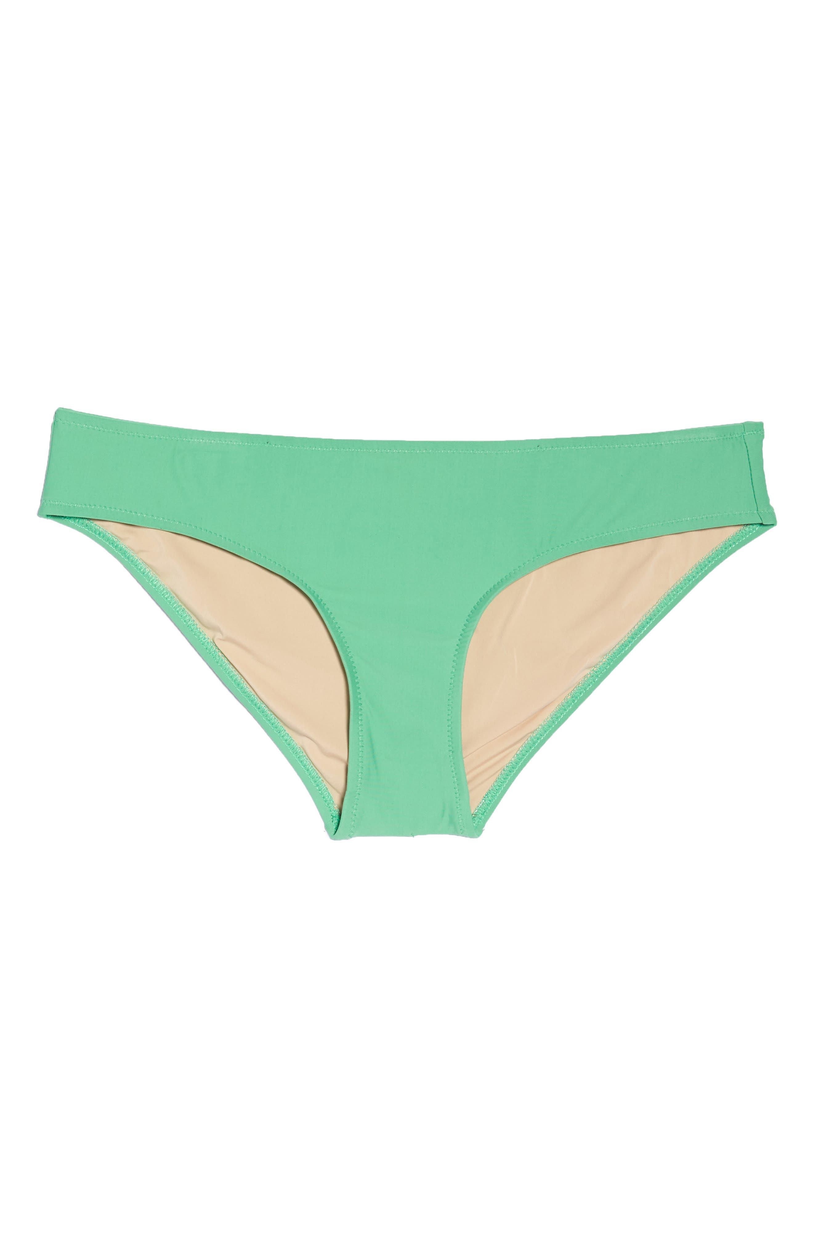 J.Crew Hipster Bikini Bottoms,                             Alternate thumbnail 9, color,                             Bright Spearmint