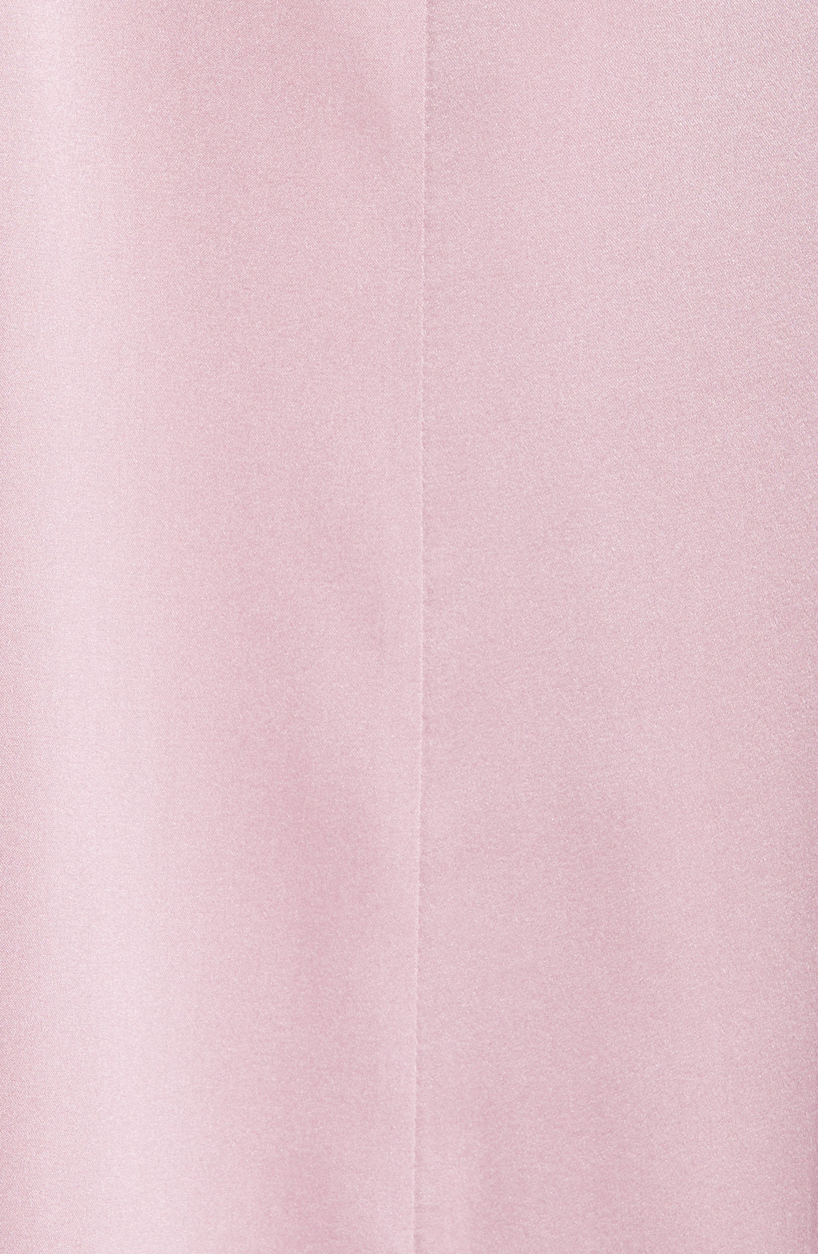 Stretch Silk Top,                             Alternate thumbnail 4, color,                             Rose Quartz