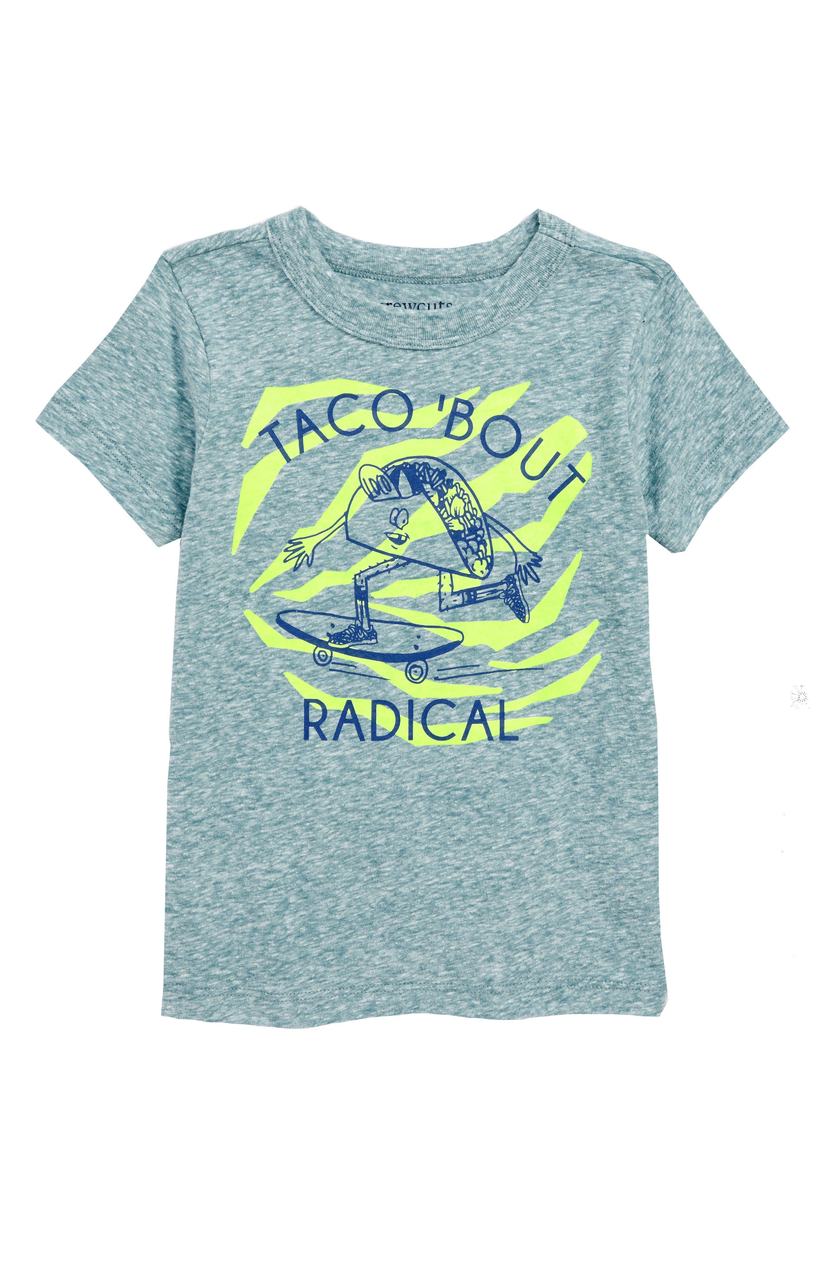 Taco 'Bout Radical T-Shirt,                             Main thumbnail 1, color,                             Voyage Blue