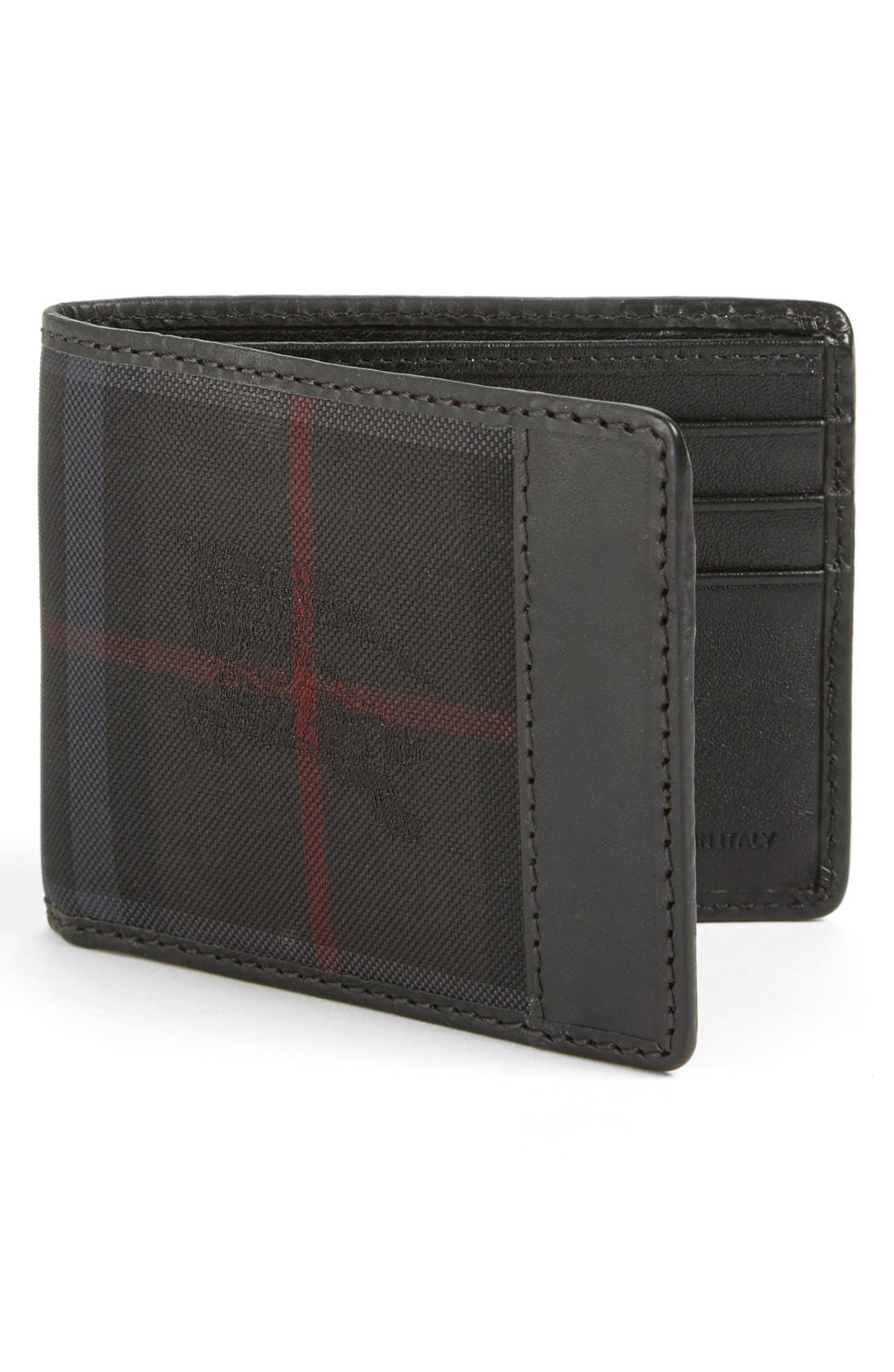 Burberry Check Wallet