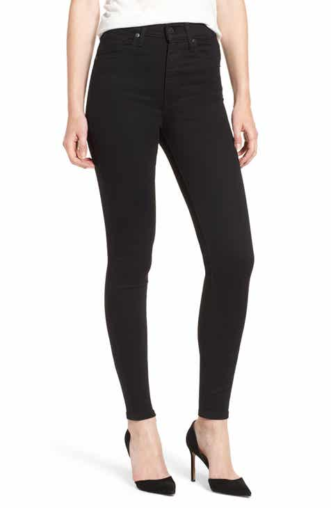 Promo Code Levi's® Mile High Super Skinny Jeans (Black Galaxy)