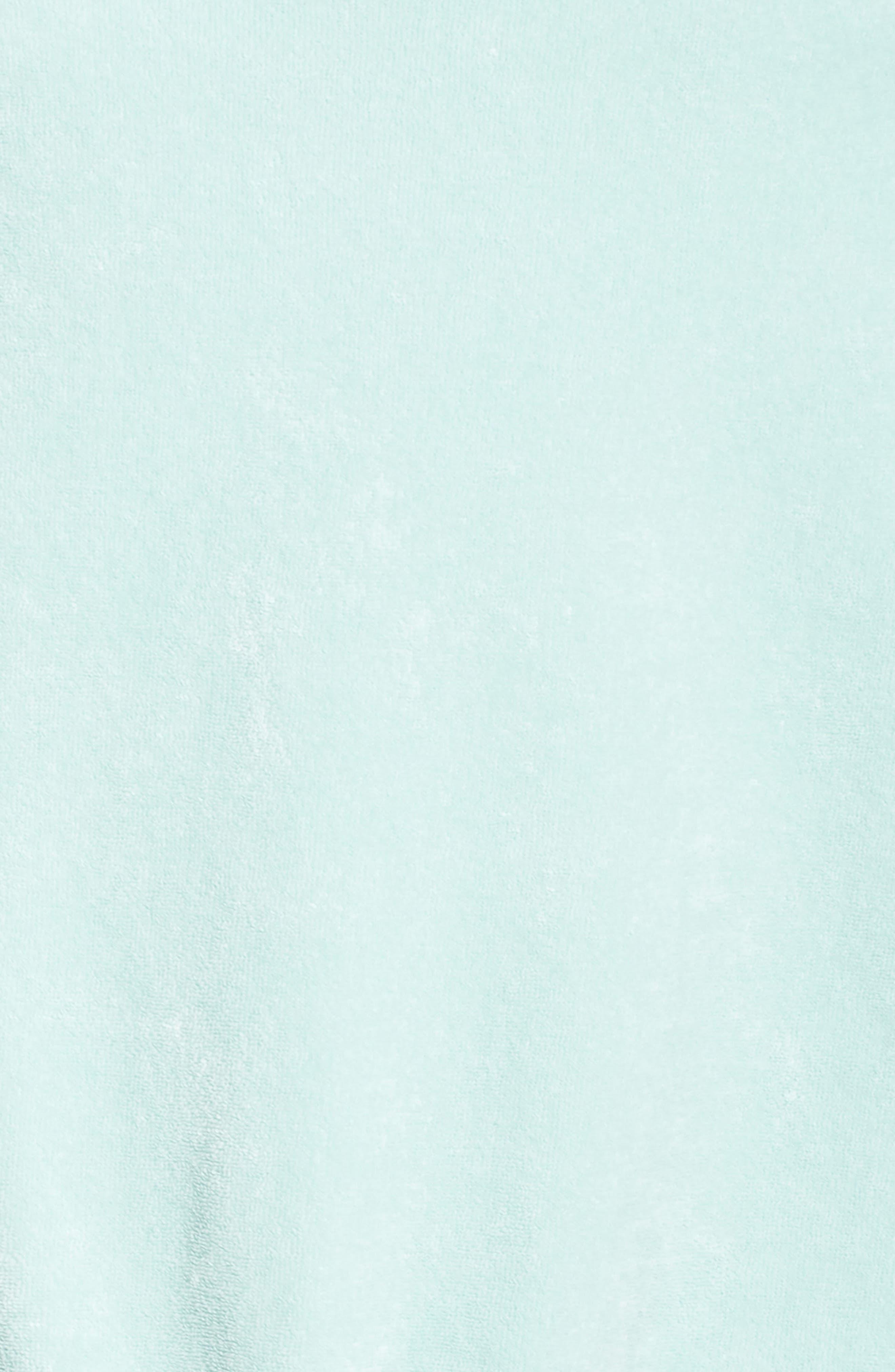 Sportswear Terry Romper,                             Alternate thumbnail 6, color,                             Igloo/ Igloo/ White