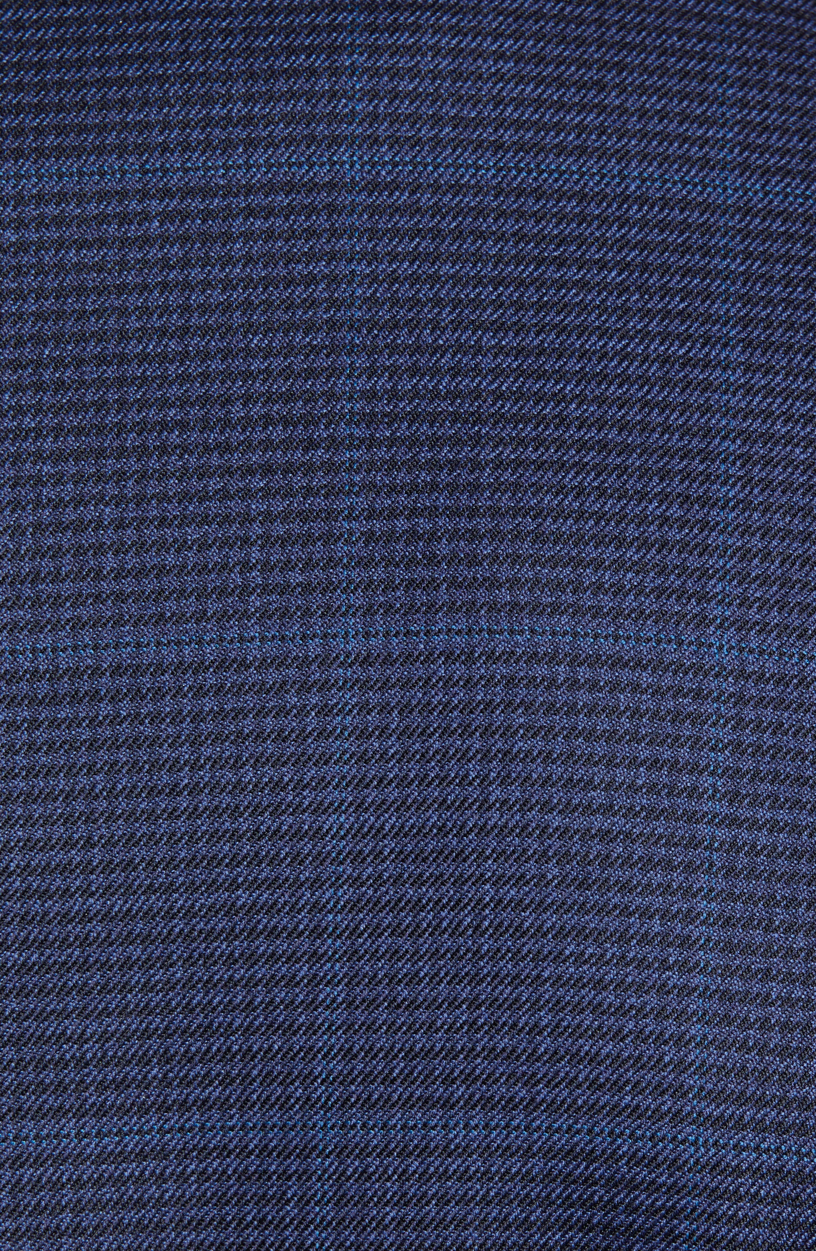 Traditional Fit Windowpane Wool Sport Coat,                             Alternate thumbnail 4, color,                             Blue