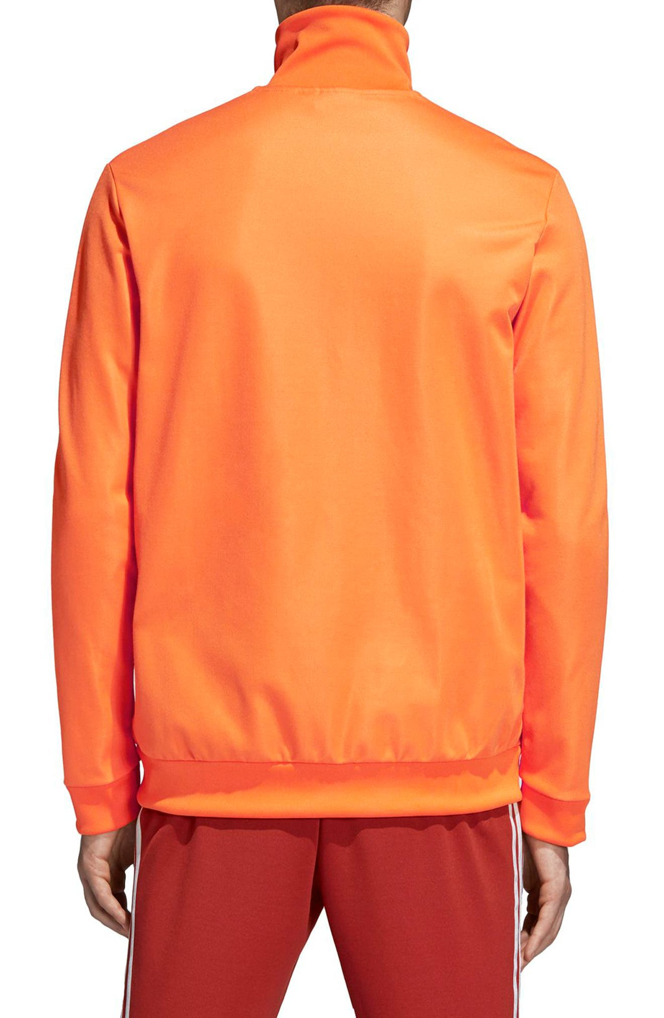 BB Track Jacket,                             Alternate thumbnail 2, color,                             Bright Orange