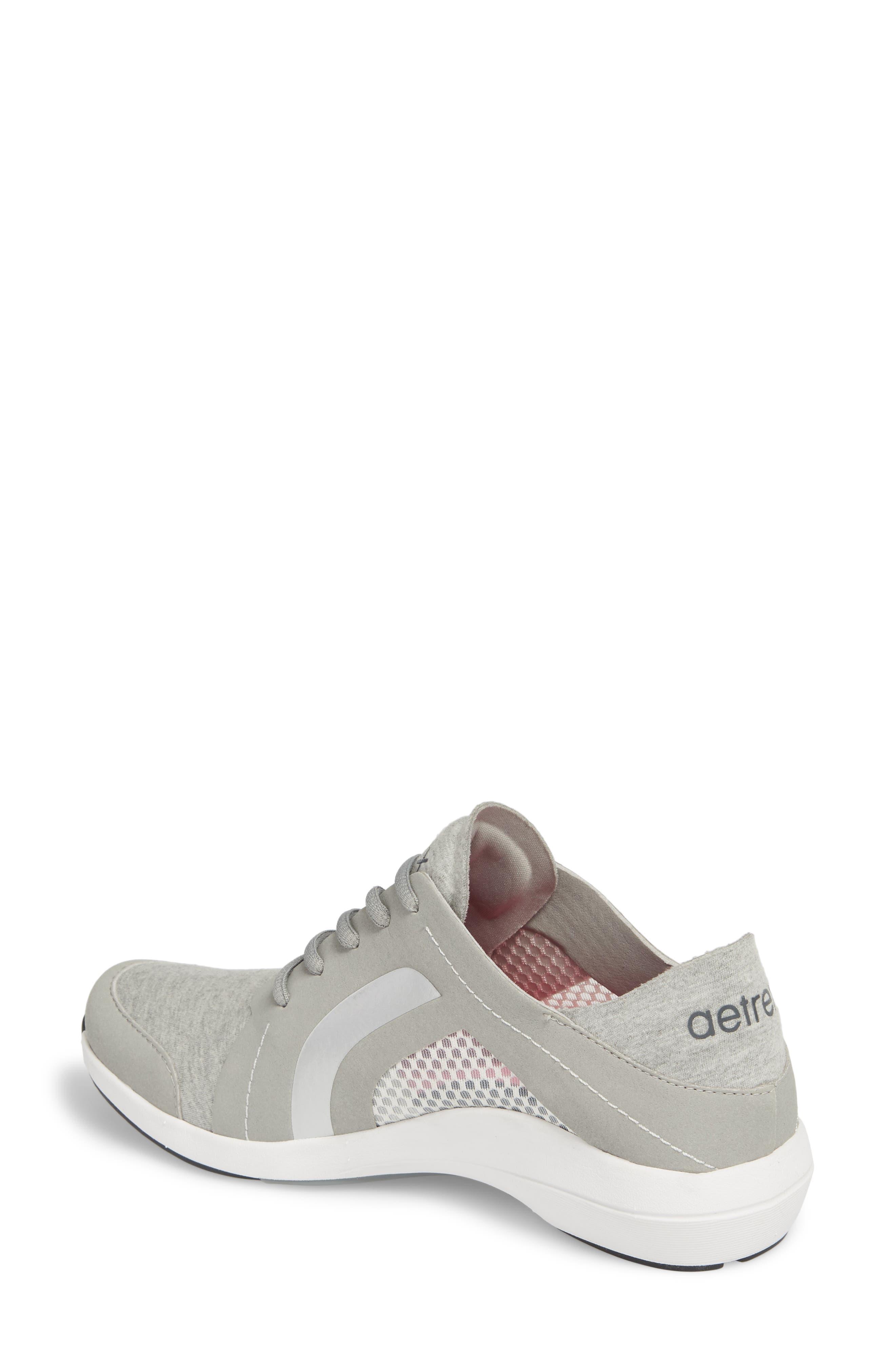 Sloane Sneaker,                             Alternate thumbnail 2, color,                             Grey Fabric