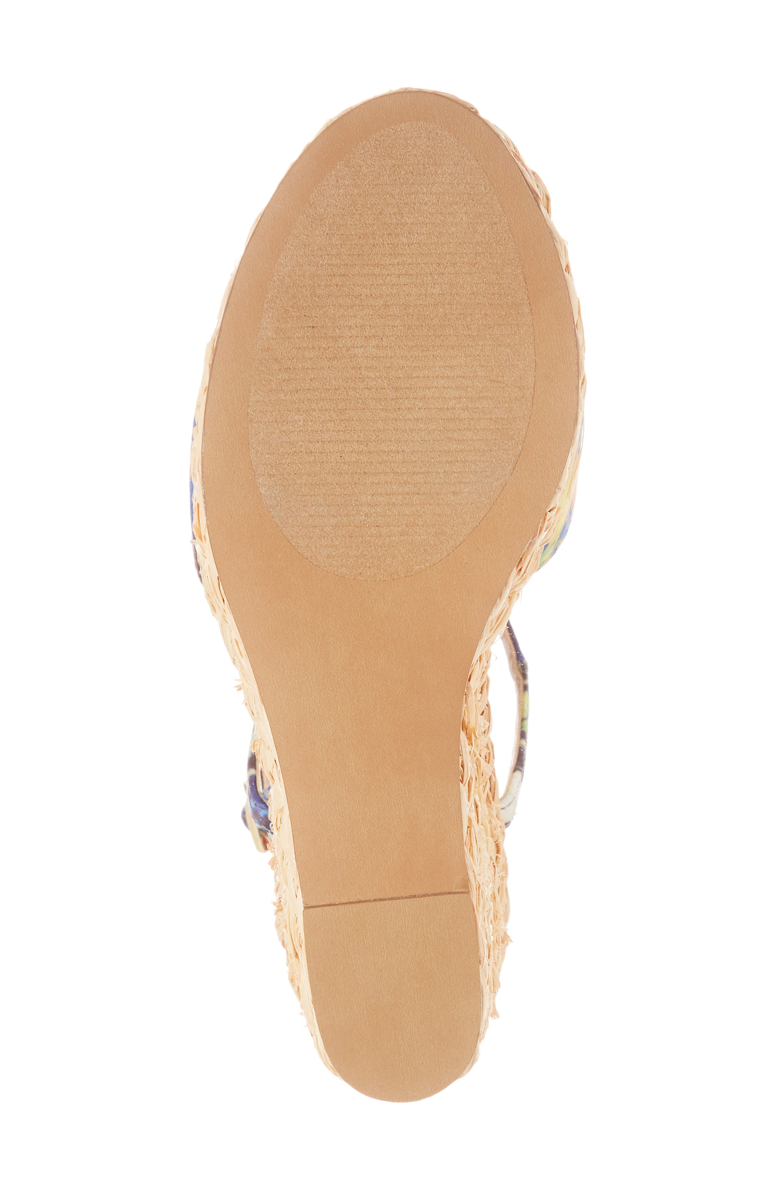 Tokin Espadrille Wedge Sandal,                             Alternate thumbnail 5, color,                             Floral Multi