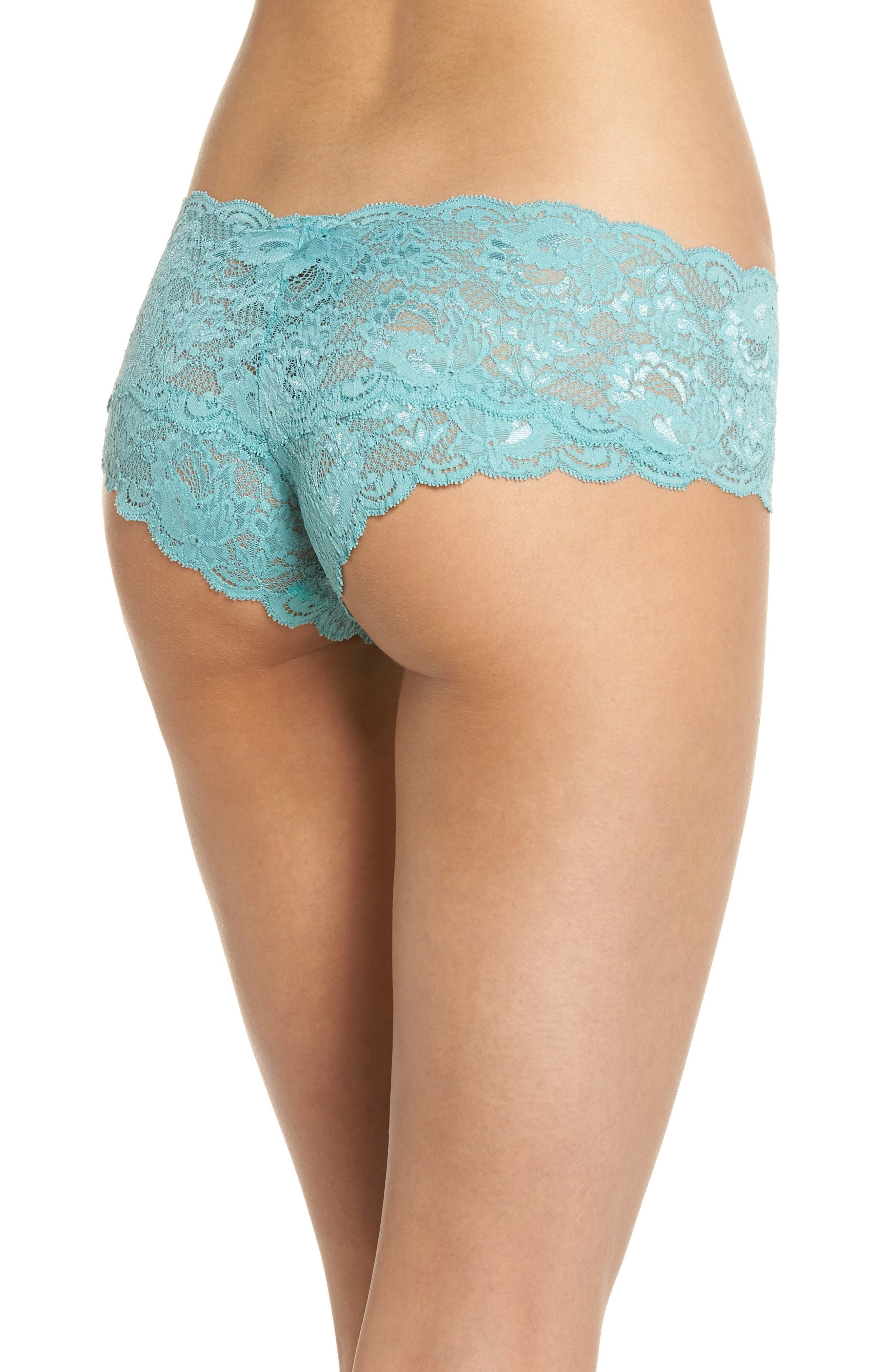 'Never Say Never' Hipster Briefs,                             Alternate thumbnail 2, color,                             Dusty Turquoise