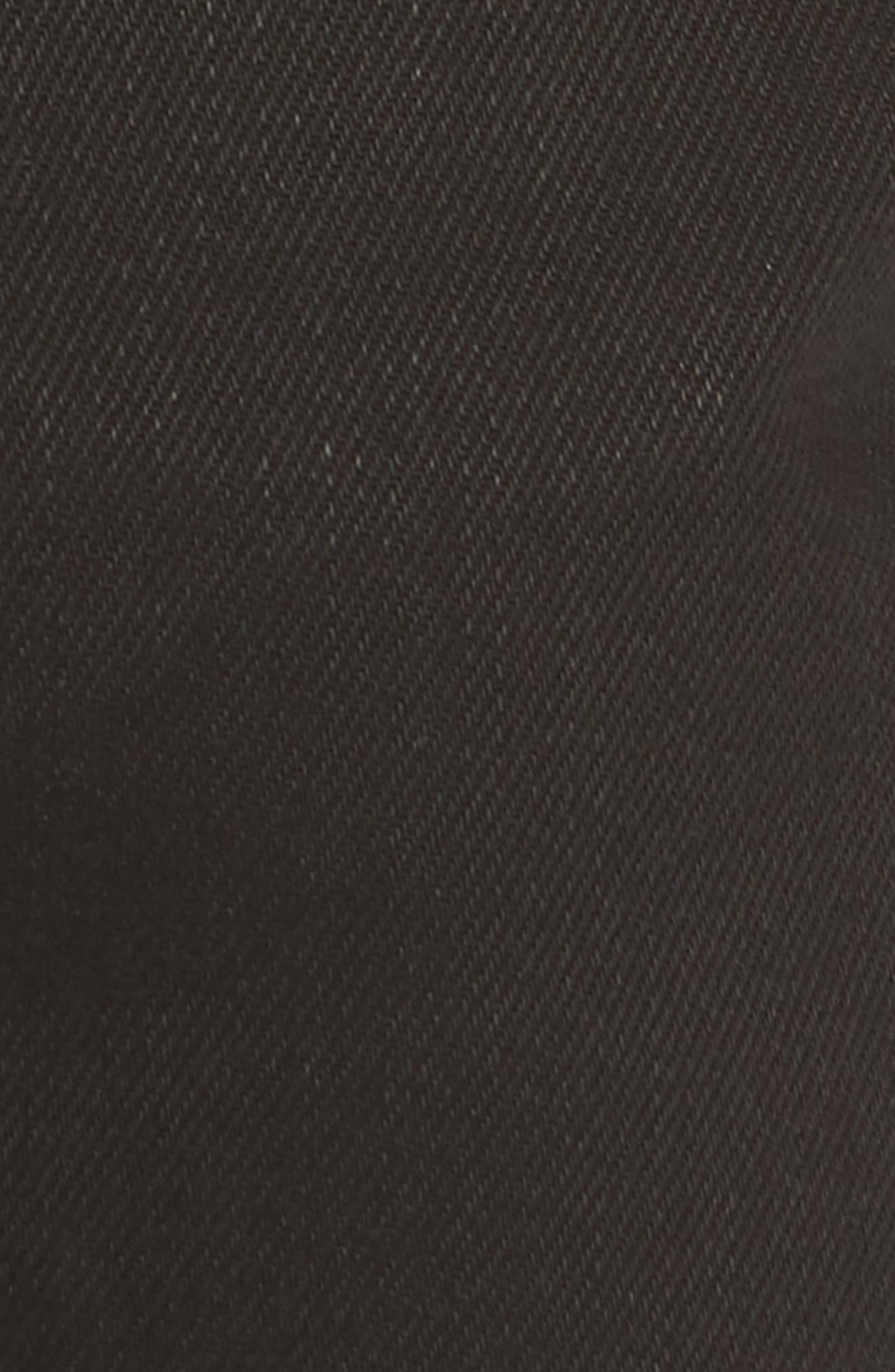 Naked & Famous Easy Guy Relaxed Fit Jeans,                             Alternate thumbnail 6, color,                             Solid Black Selvedge