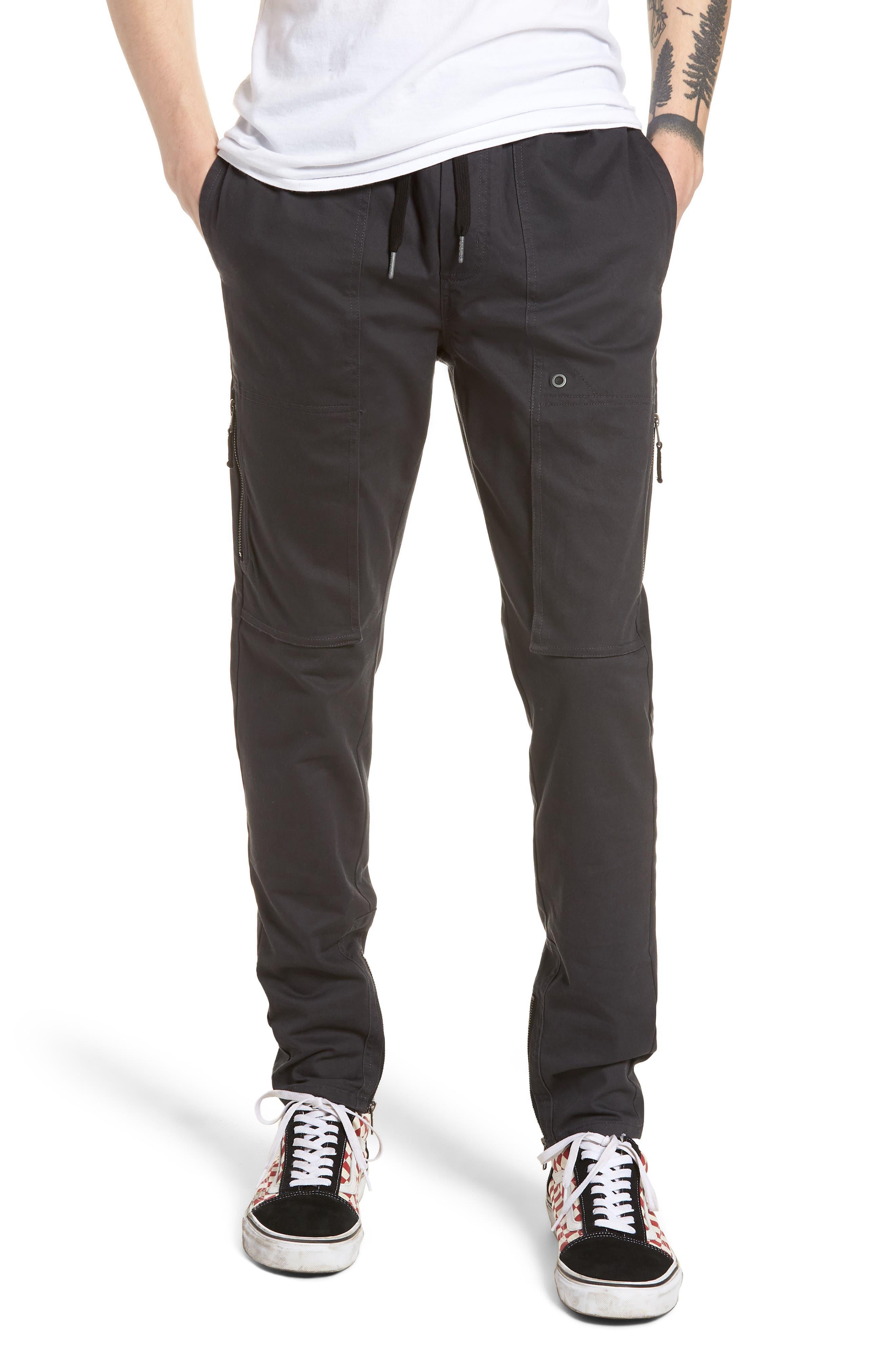 Blockshot Jogger Pants,                             Main thumbnail 1, color,                             Vintage Black/ Black