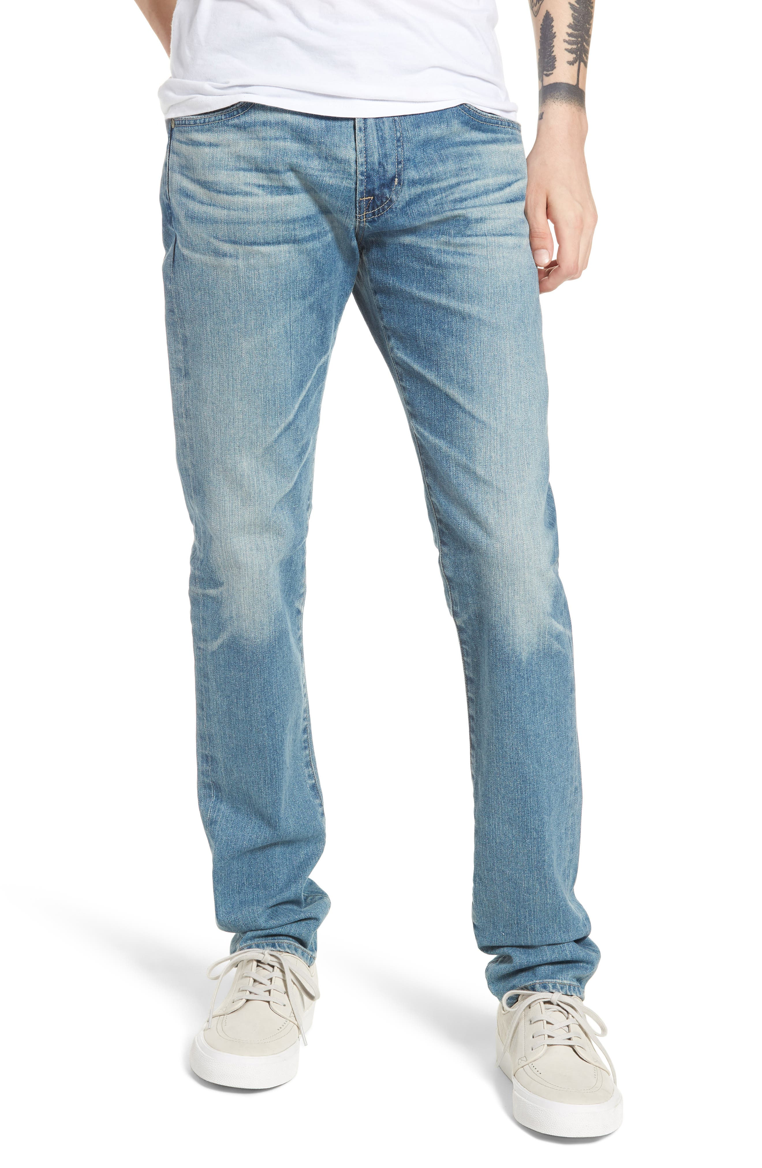 Dylan Skinny Fit Jeans,                         Main,                         color, 18 Years Oceano