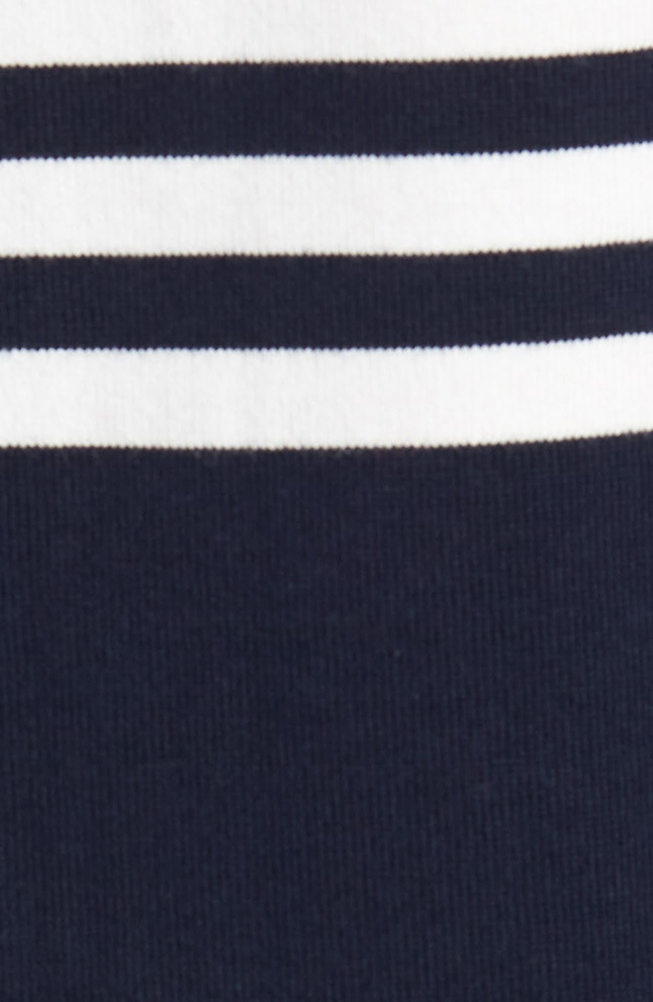 1984 Colorblock Stripe Rugby Shirt,                             Alternate thumbnail 5, color,                             Navy White