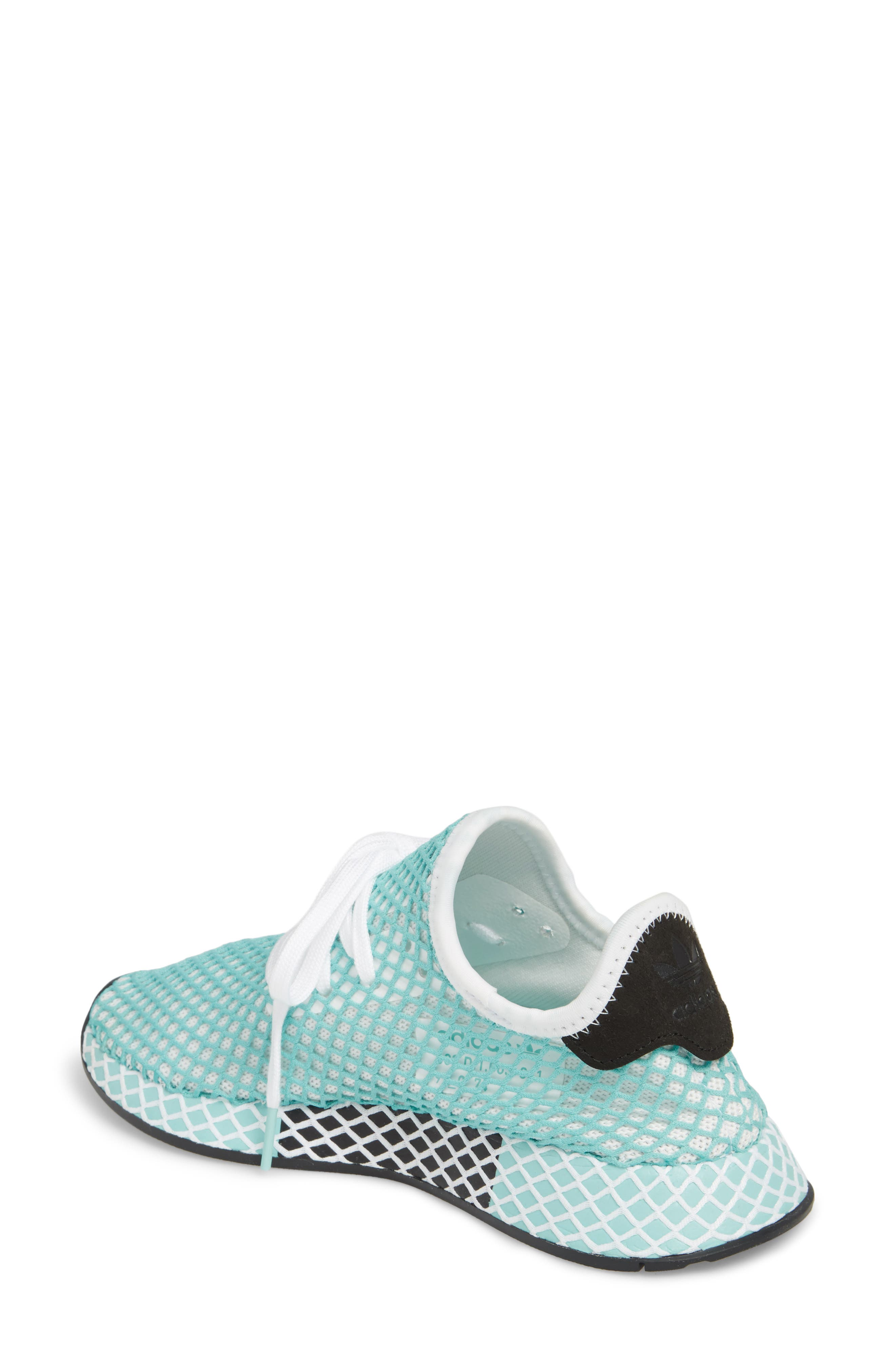 Deerupt x Parley Runner Sneaker,                             Alternate thumbnail 2, color,                             White/ White/ Blue Spirit