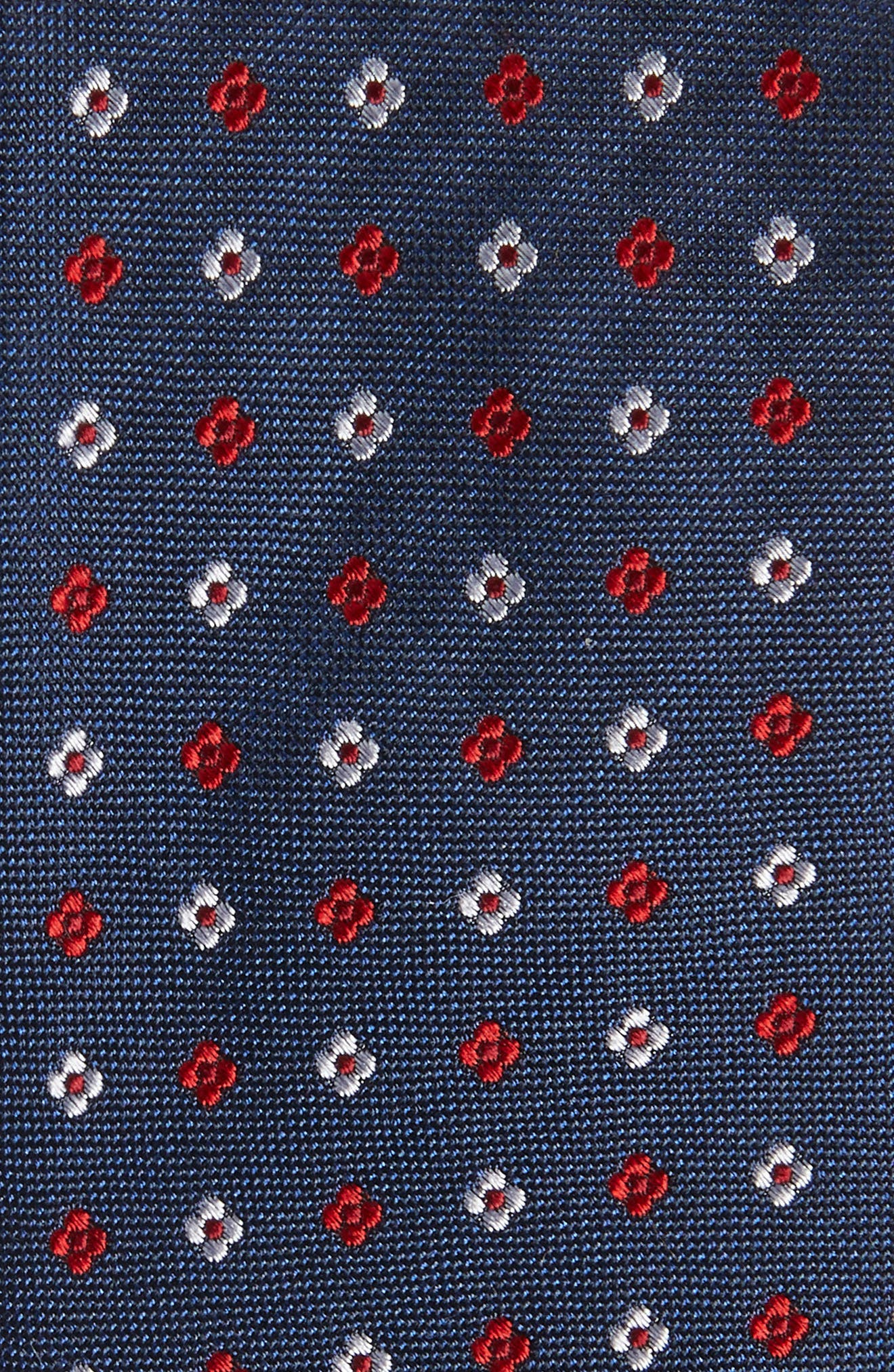 Rubio Silk Tie,                             Alternate thumbnail 2, color,                             Red