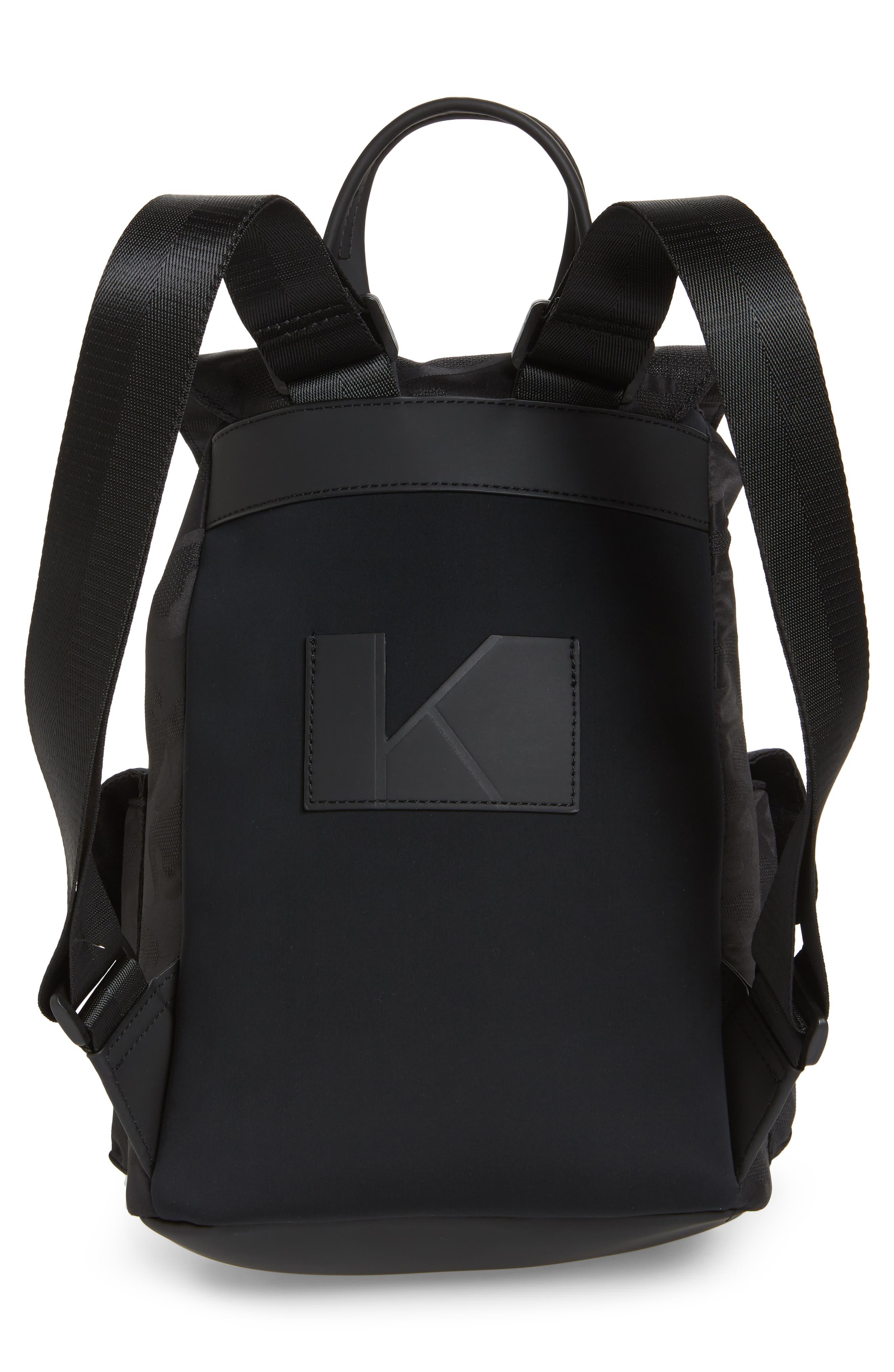 Parker Water Resistant Backpack,                             Alternate thumbnail 6, color,                             Black Camo