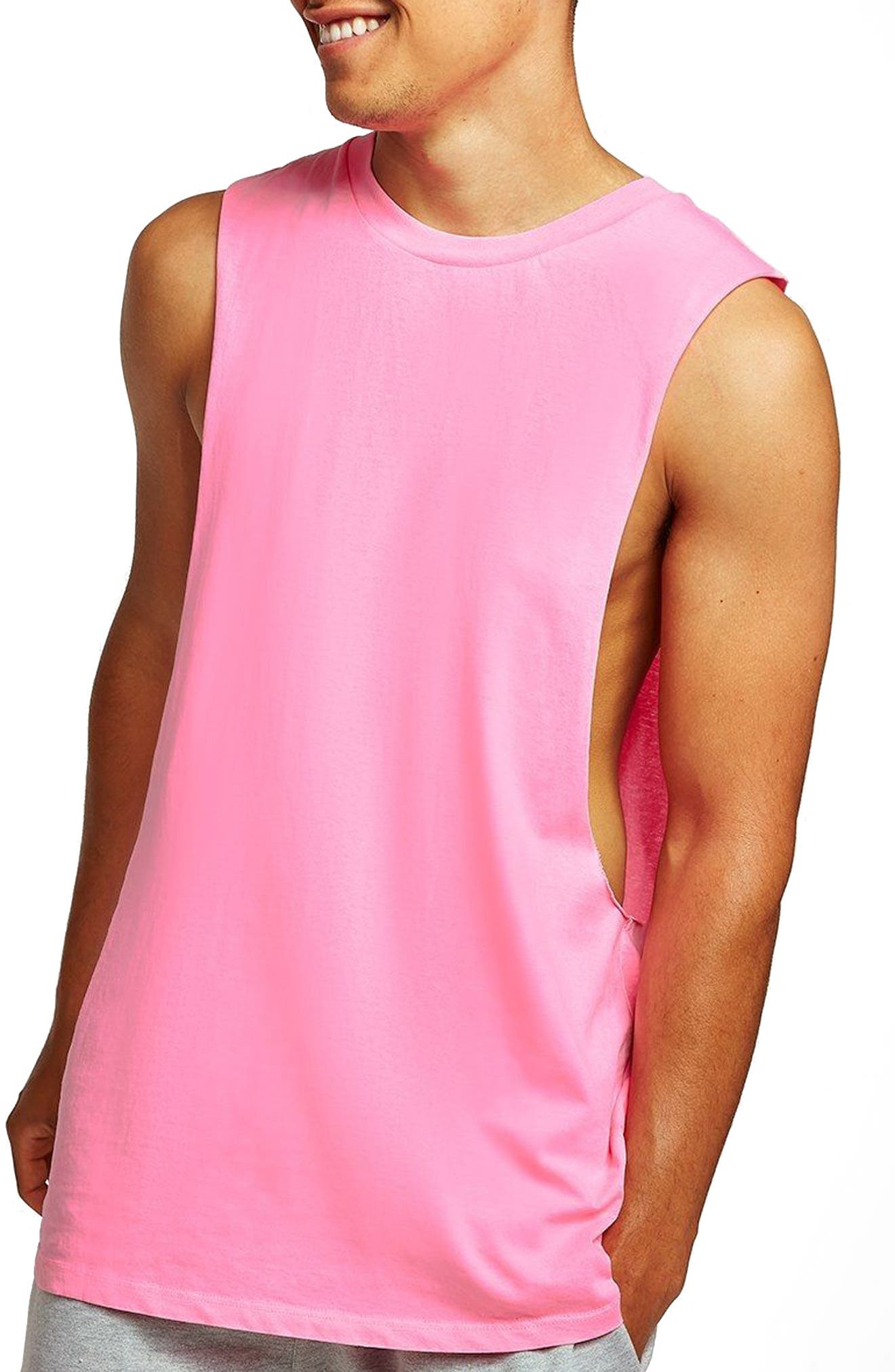 Neon Tank,                             Main thumbnail 1, color,                             Pink