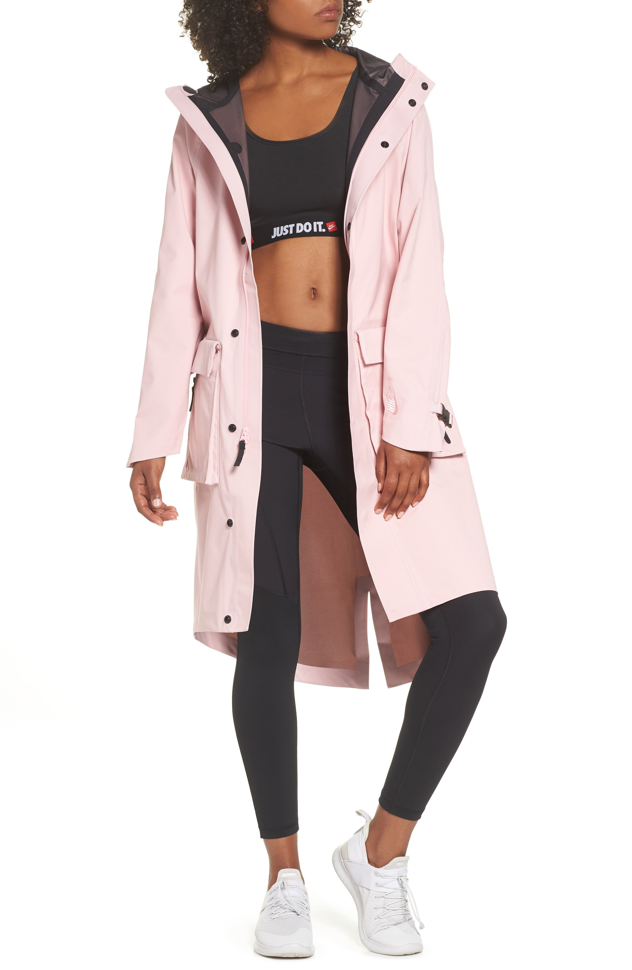 NRG Women's Hooded Anorak,                             Main thumbnail 1, color,                             Arctic Punch/ Arctic Punch