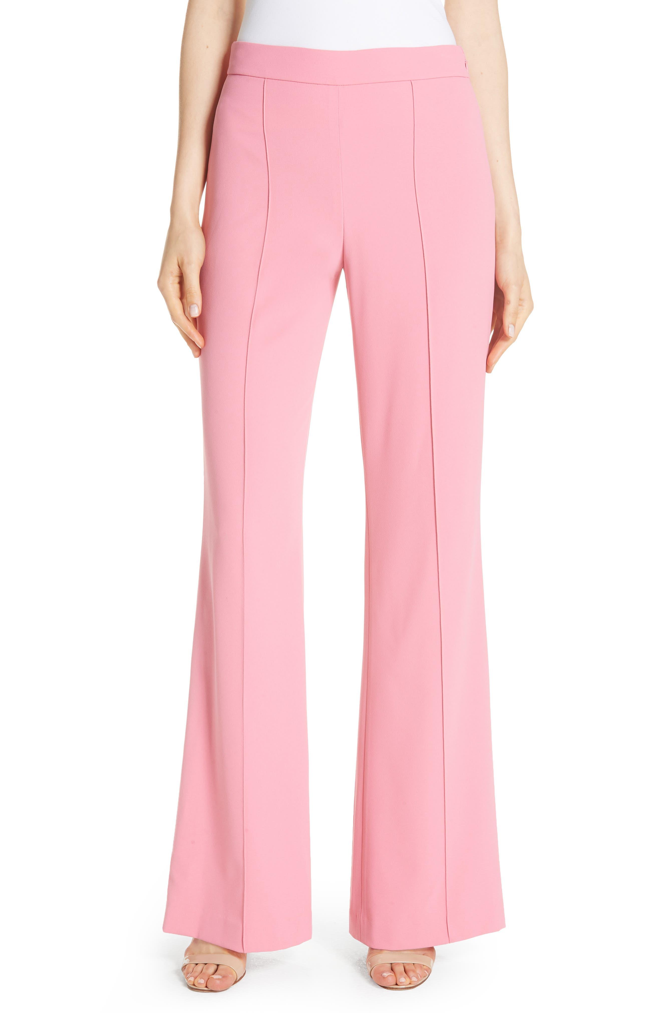 Jalisa High Waist Flare Pants,                             Main thumbnail 1, color,                             Bubblegum