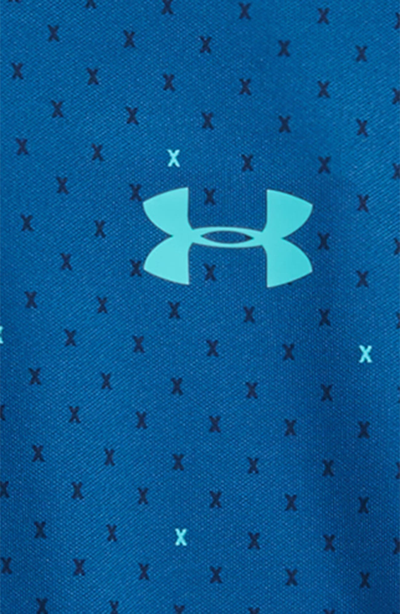 HeatGear<sup>®</sup> Polo,                             Alternate thumbnail 2, color,                             Moroccan Blue/ Teal Punch