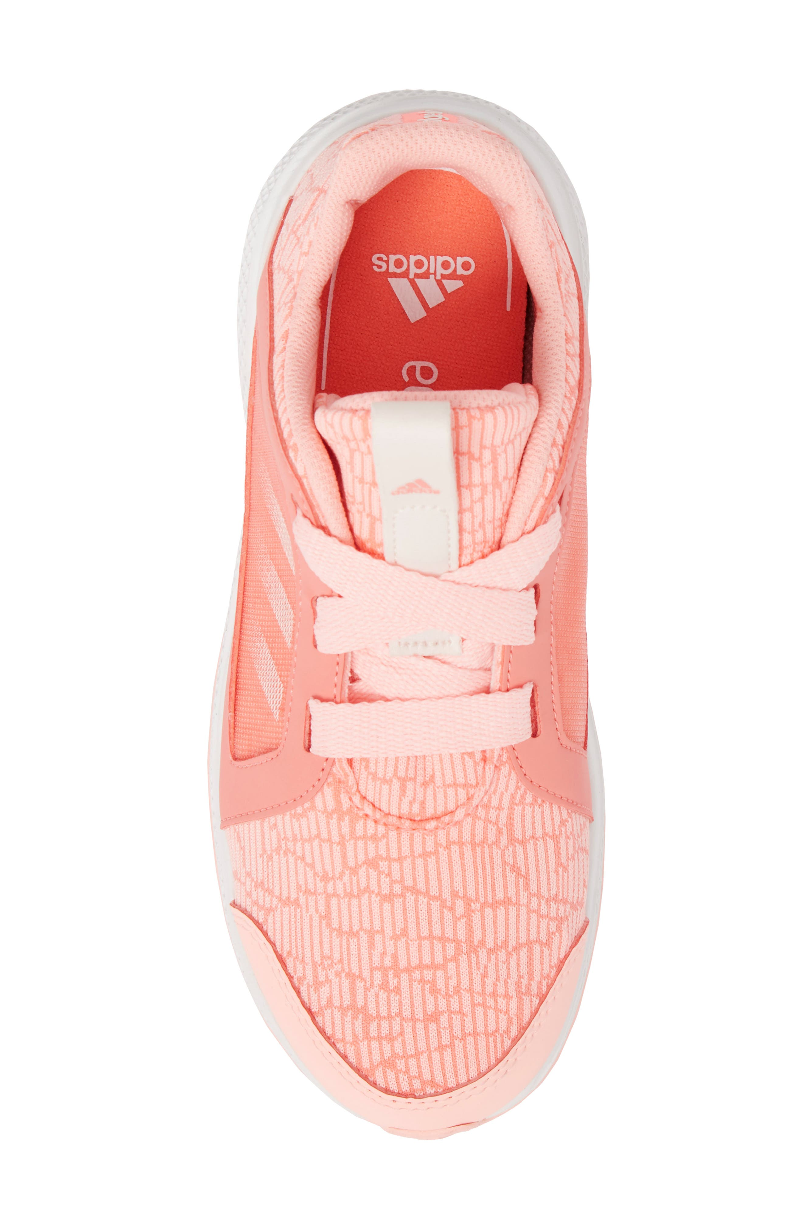 Edge Lux Running Shoe,                             Alternate thumbnail 5, color,                             Chalk Coral/ White/ Orange