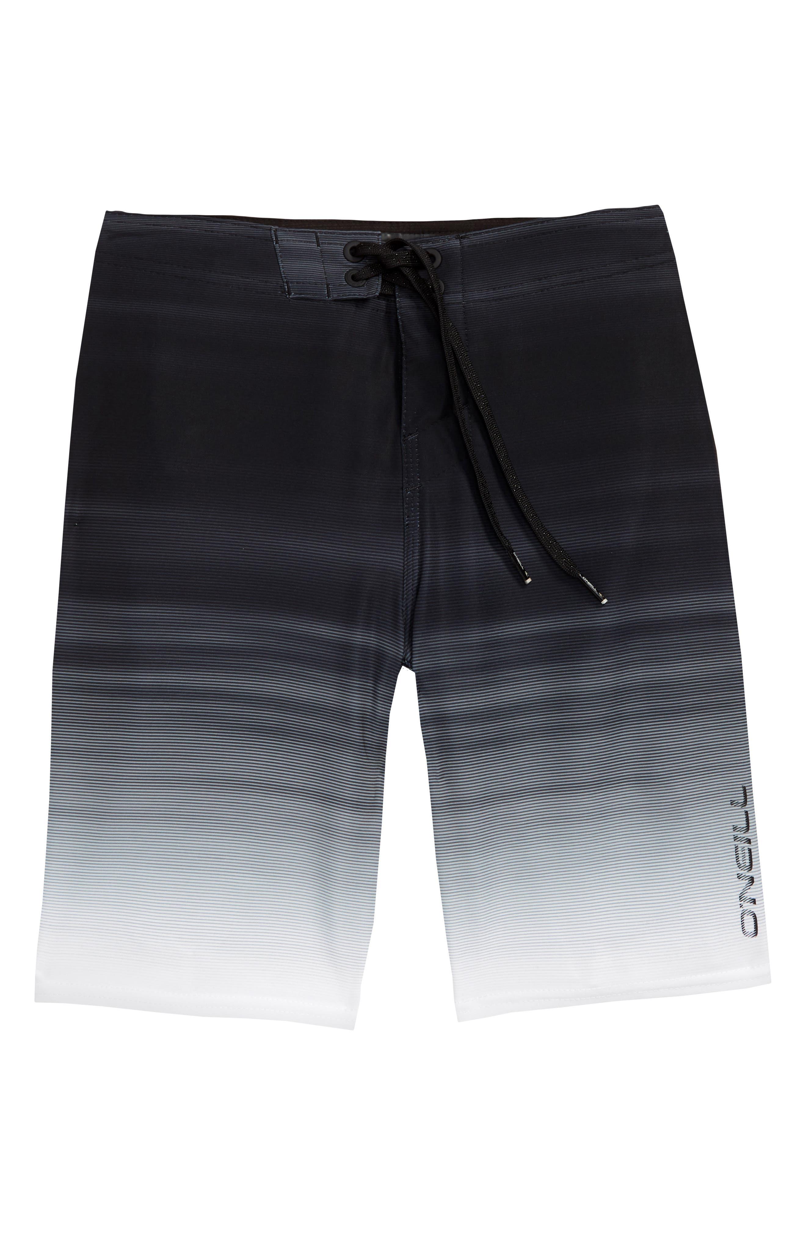Sneakyfreak Mysto Board Shorts,                             Main thumbnail 1, color,                             Black