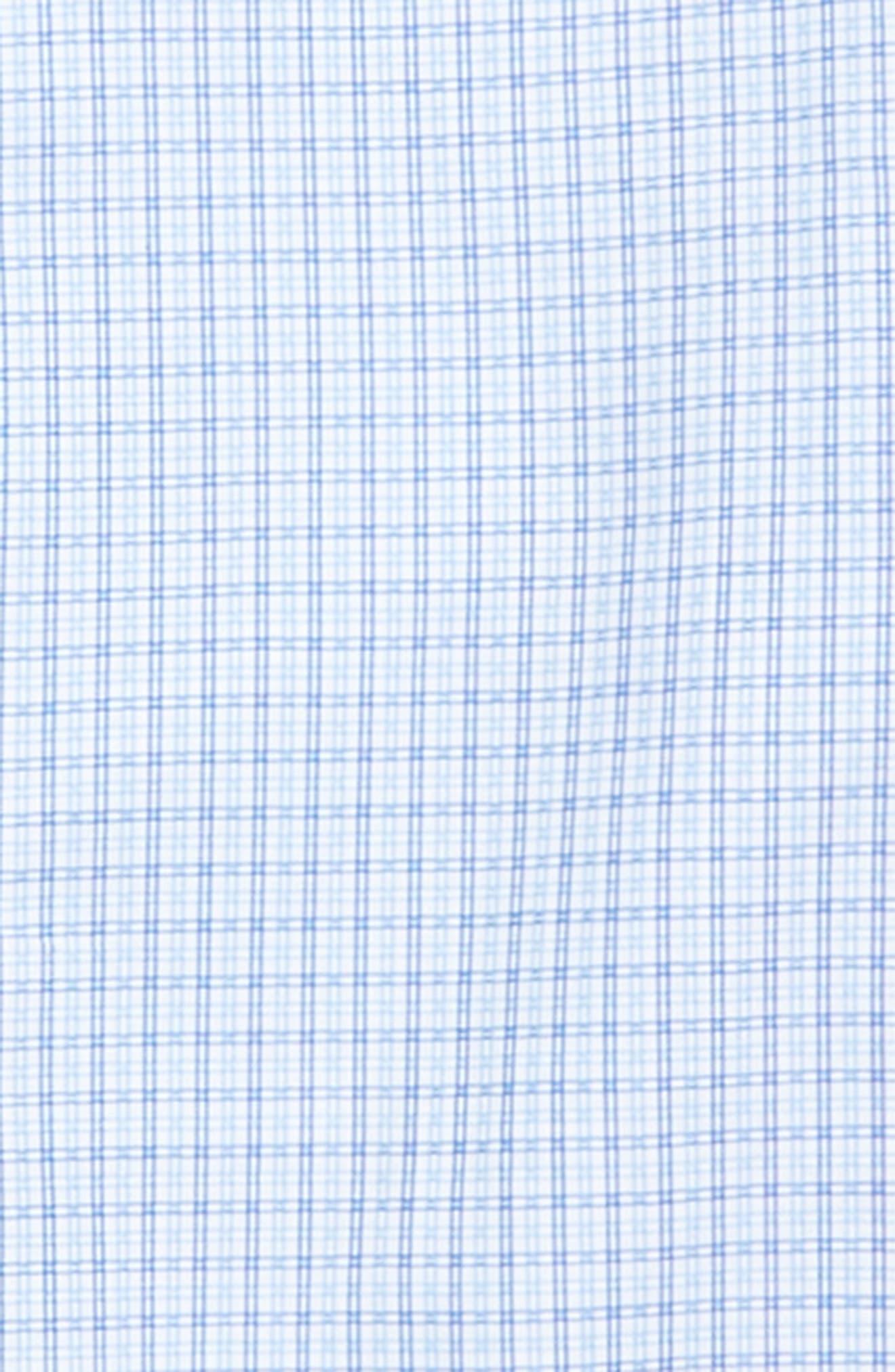 Check Dress Shirt,                             Alternate thumbnail 2, color,                             Royal Blue