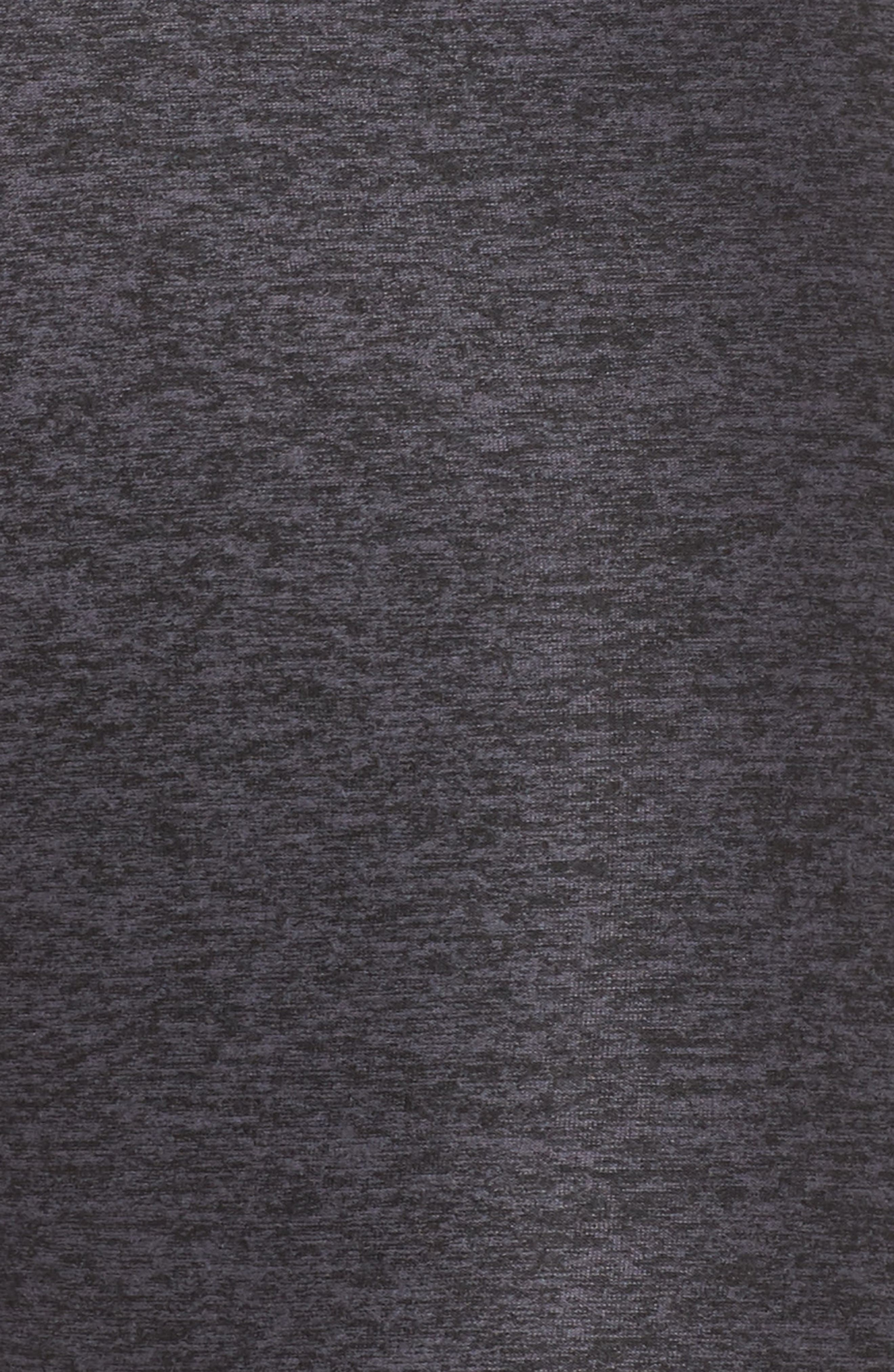 Space Dye High Waist Leggings,                             Alternate thumbnail 4, color,                             Black Steel Ombre