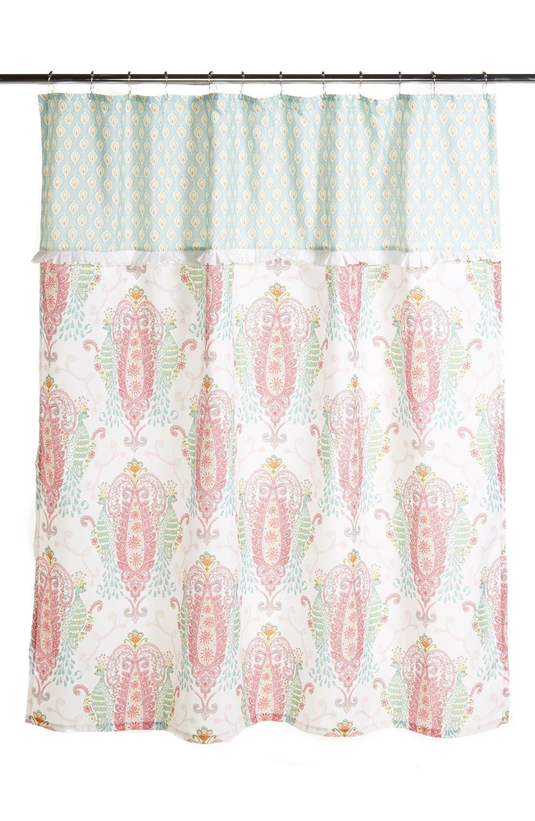 Dena Home 'Peacock' Shower Curtain