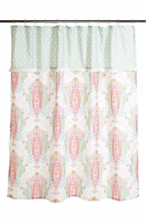gold and pink shower curtain. Dena Home  Peacock Shower Curtain Curtains Nordstrom