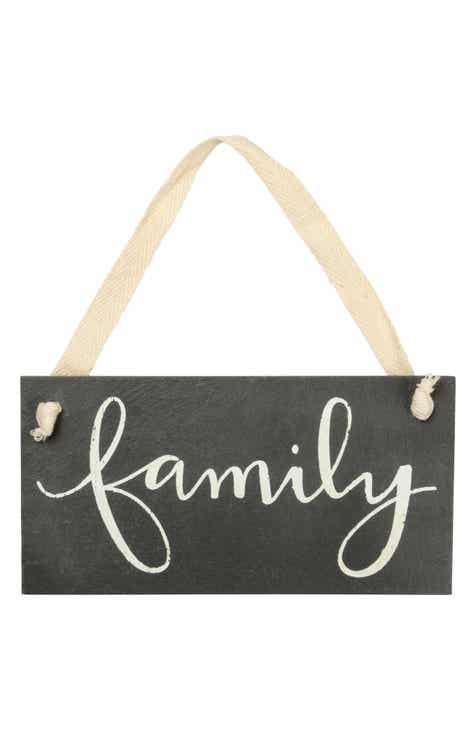 Primitives By Kathy Hanging Family Sign