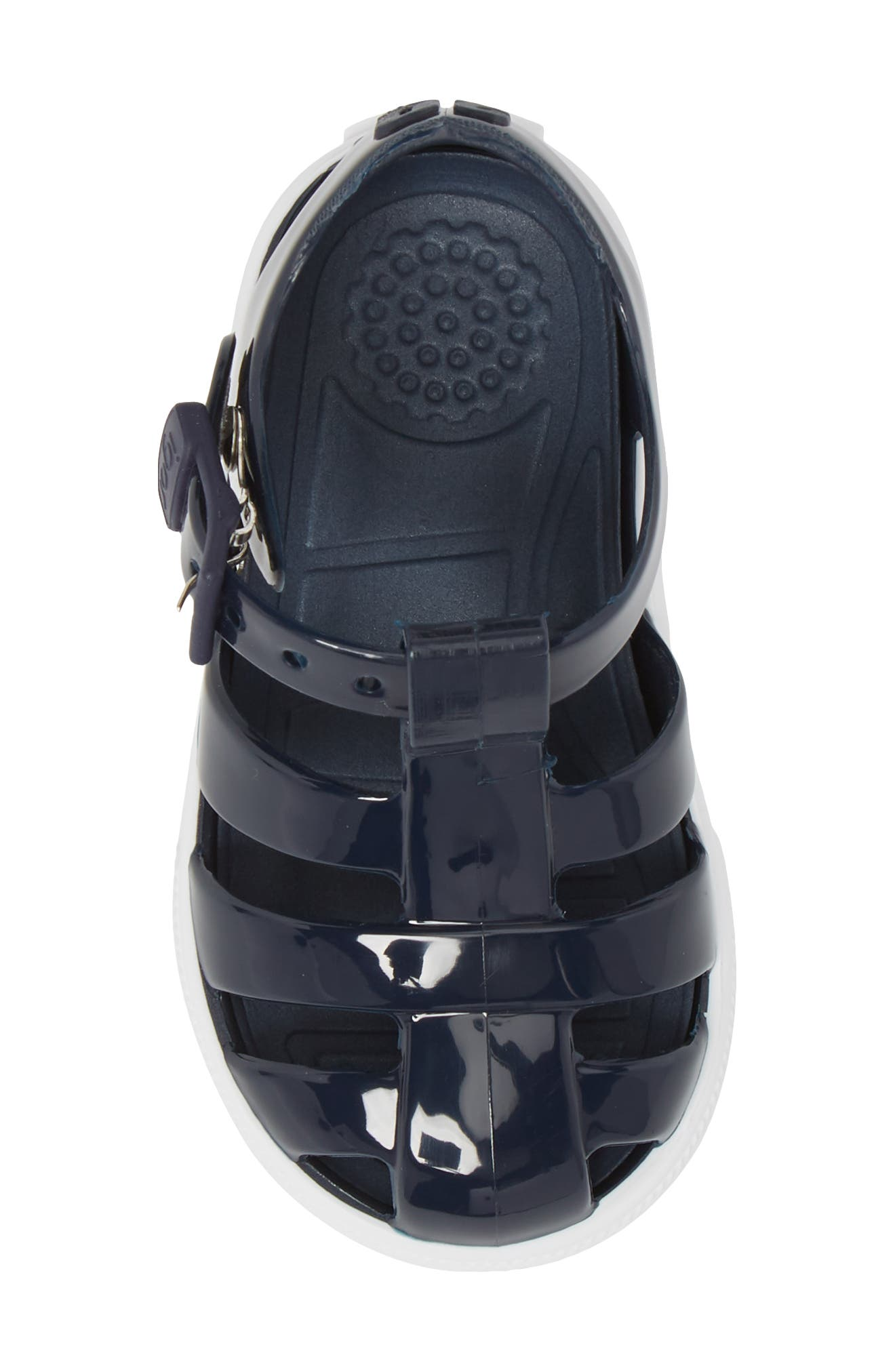 Tenis Fisherman Jelly Sandal,                             Alternate thumbnail 6, color,                             Navy