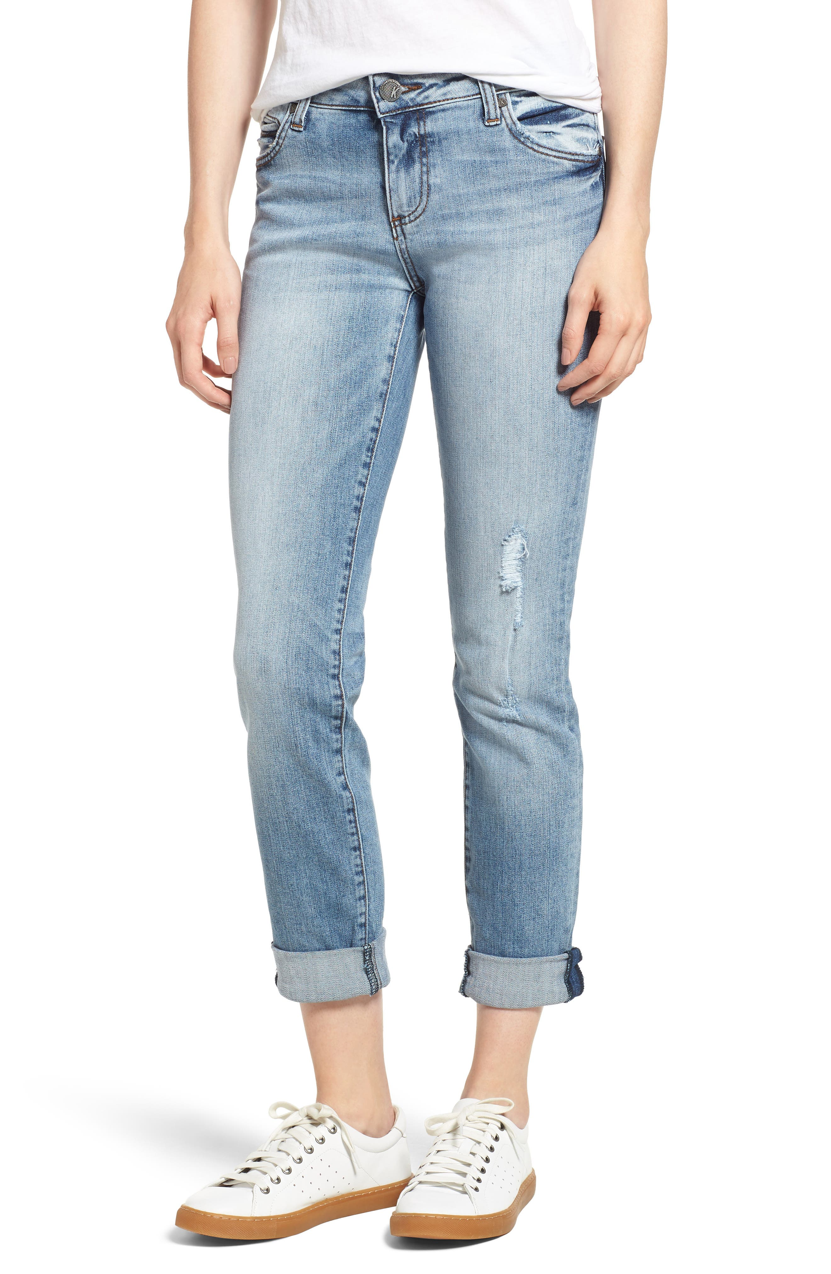 CATHERINE BOYFRIEND RIPPED JEANS