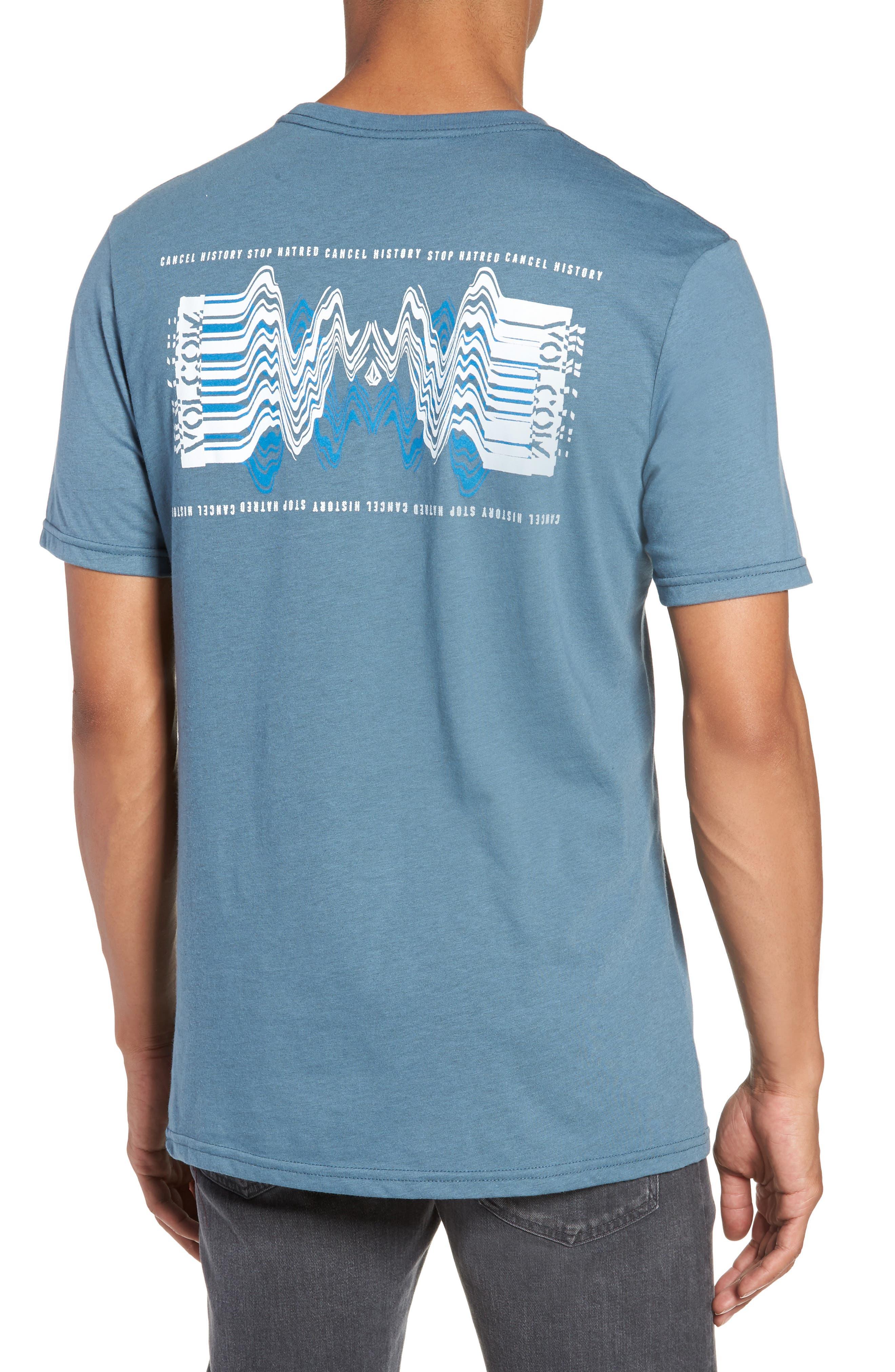 Bard Pocket Cotton Blend T-Shirt,                             Alternate thumbnail 2, color,                             Indigo
