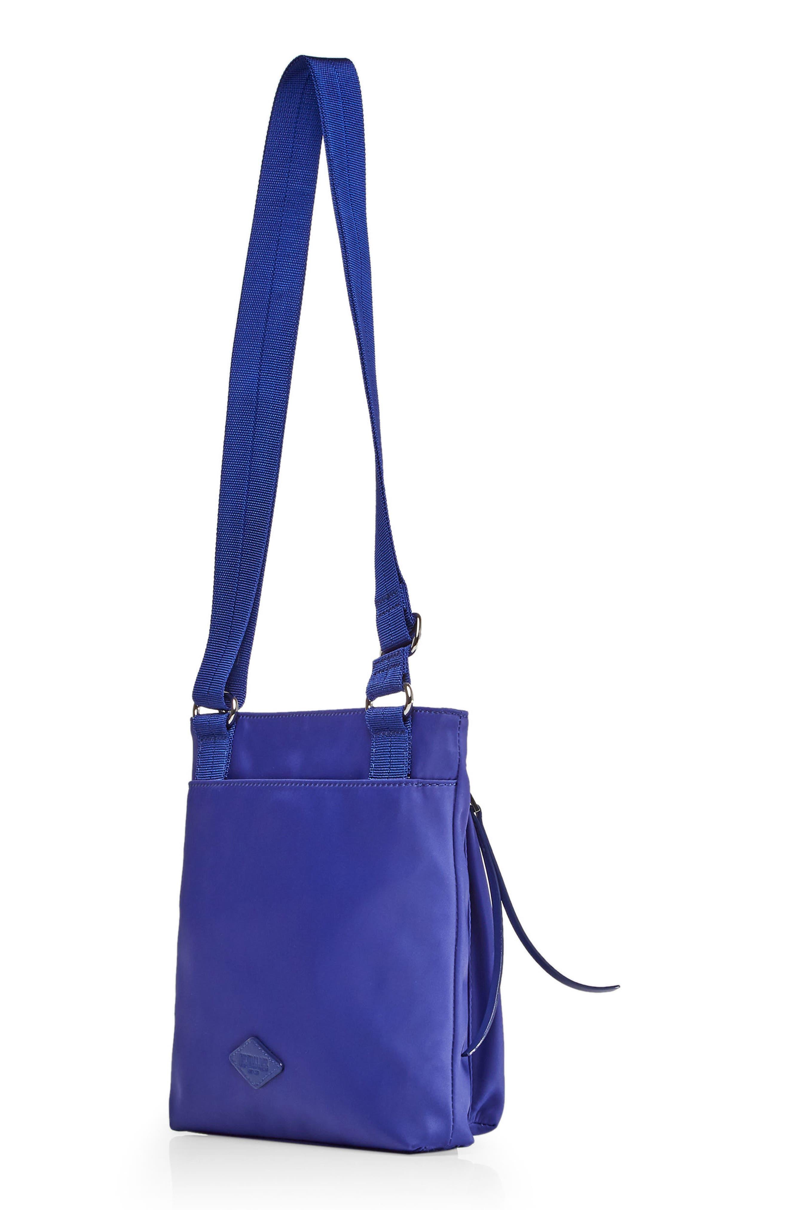 Jordan Bedford Nylon Crossbody Bag,                             Alternate thumbnail 2, color,                             Spectrum Blue