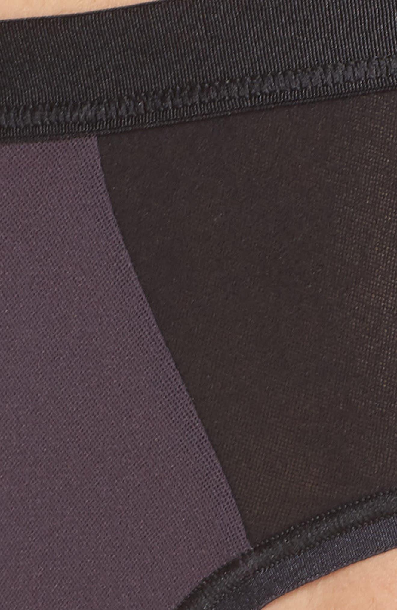 Colorblock Briefs,                             Alternate thumbnail 4, color,                             Graph Black