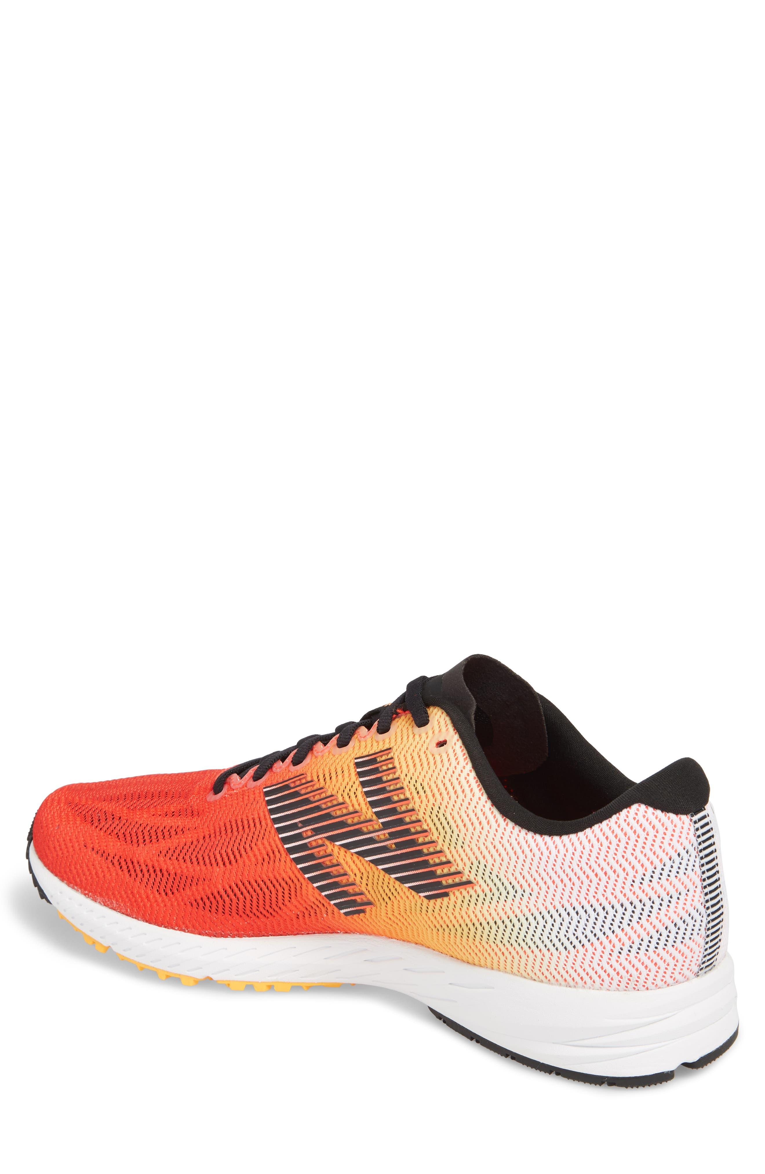 1400v6 Running Shoe,                             Alternate thumbnail 2, color,                             White Munsell