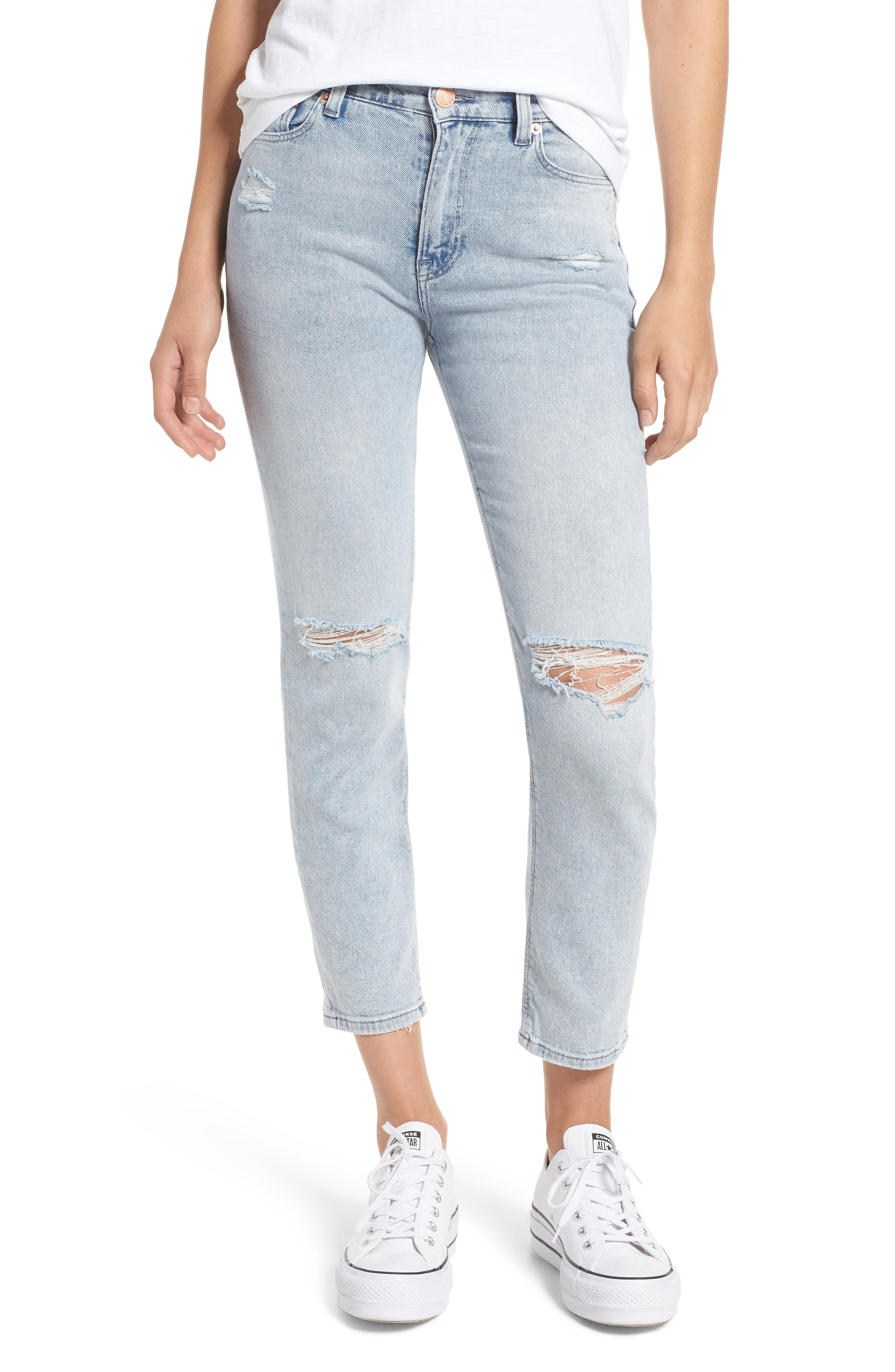 RIPPED SLIM IZZY JEANS