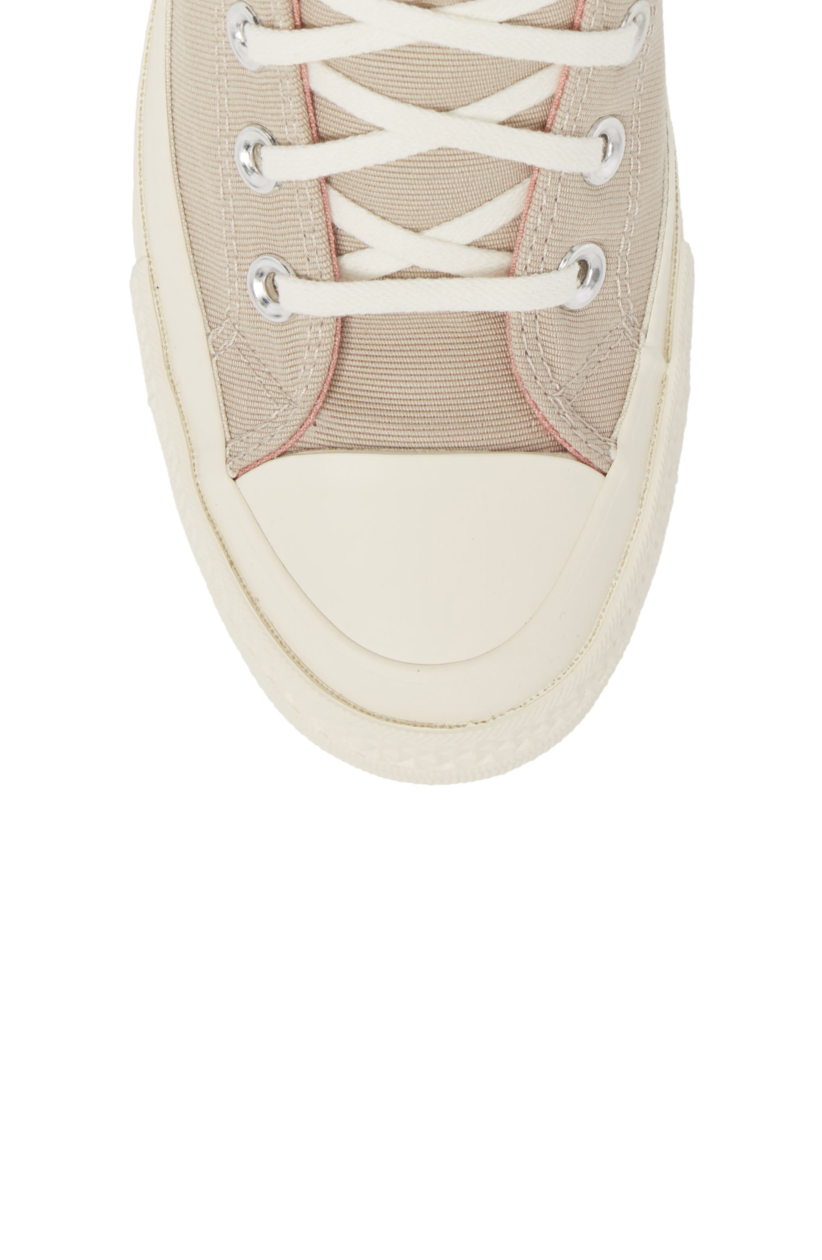 Chuck Taylor<sup>®</sup> All Star<sup>®</sup> Ripple High Top Sneaker,                             Alternate thumbnail 4, color,                             Papyrus Suede