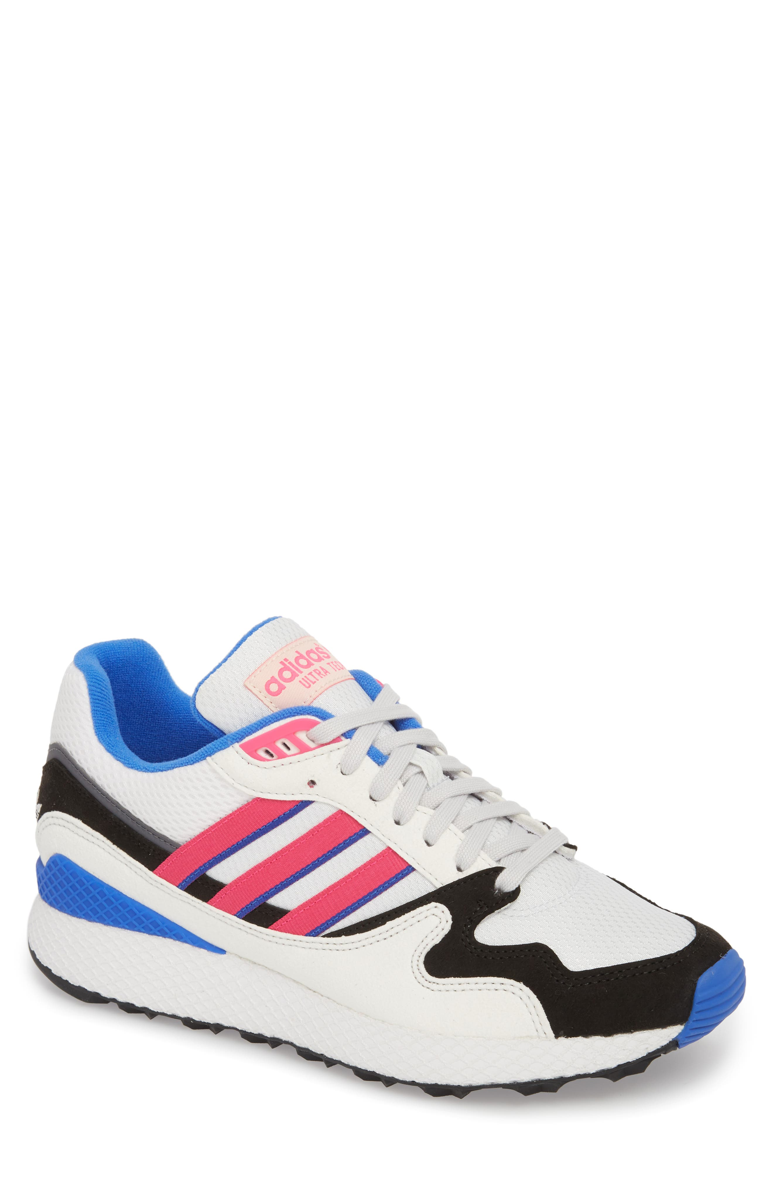 Forest Grove Ultra Tech Sneaker,                             Main thumbnail 1, color,                             Crystal White/ Pink/ Black
