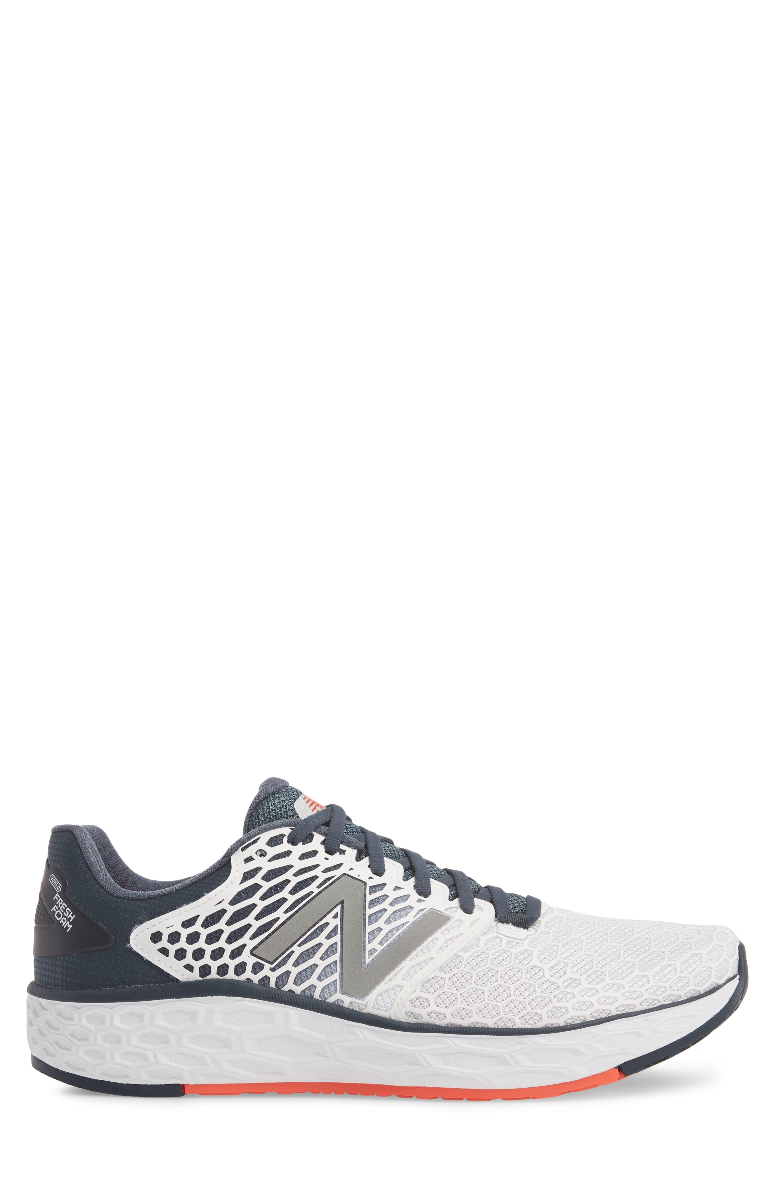 Fresh Foam Vongo v3 Running Shoe,                             Alternate thumbnail 5, color,                             White