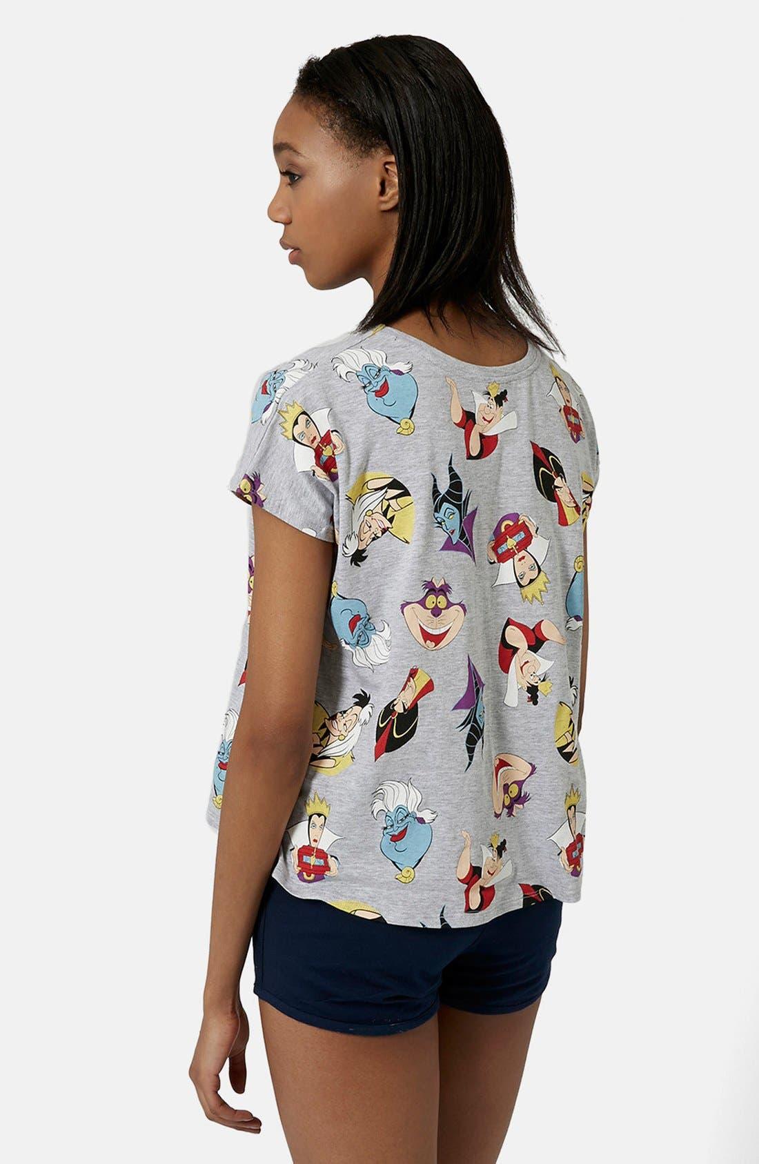 Alternate Image 2  - Topshop Disney Villains Pajama Set