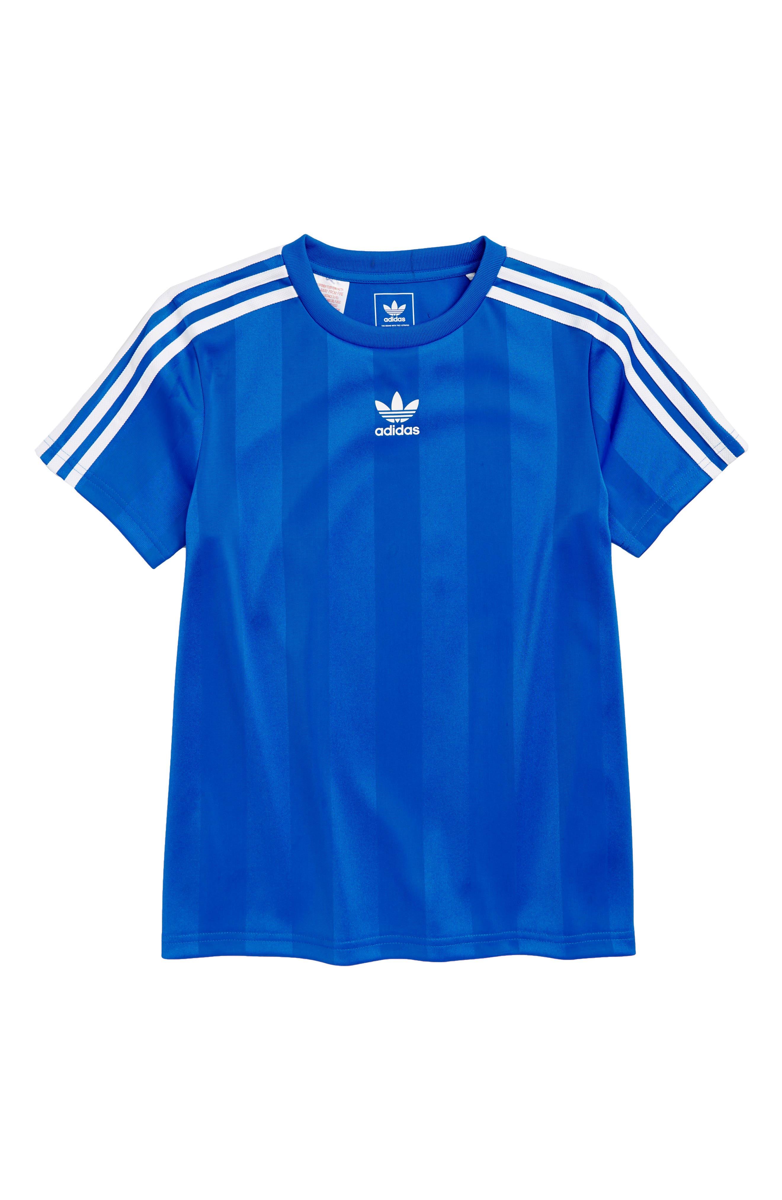 blu t shirt adidas per bambini: activewear & scarpe nordstrom