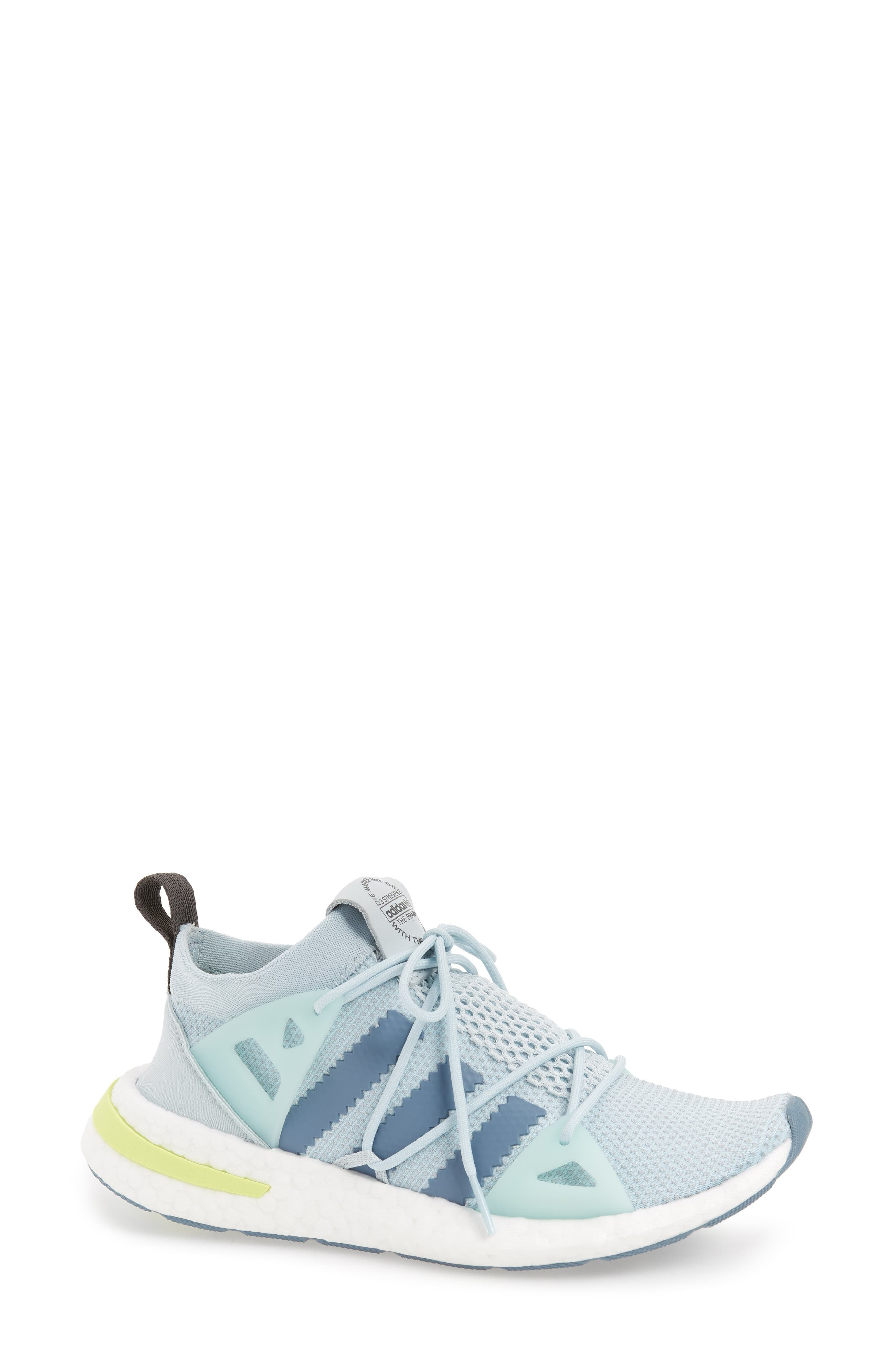 Arkyn Sneaker,                         Main,                         color, Blue Tint/ Raw Grey/ Grey Five