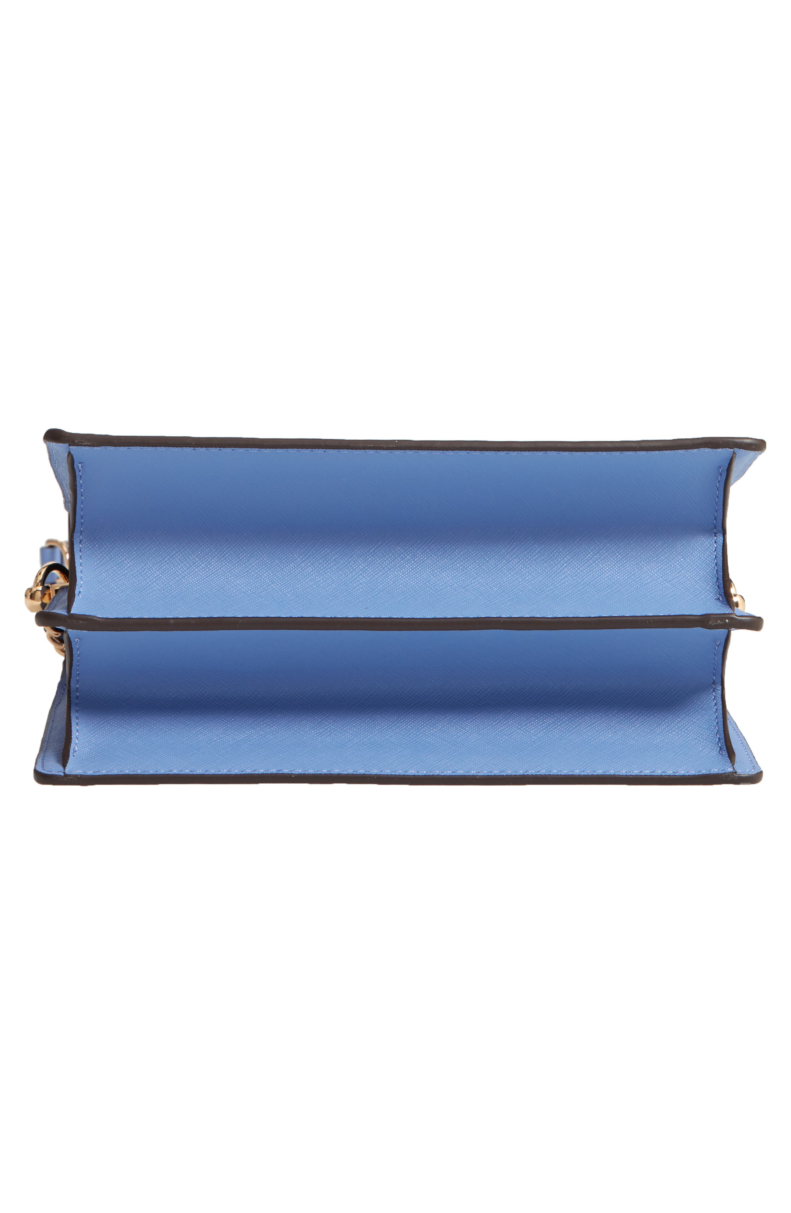 Robinson Convertible Leather Shoulder Bag,                             Alternate thumbnail 3, color,                             Bow Blue