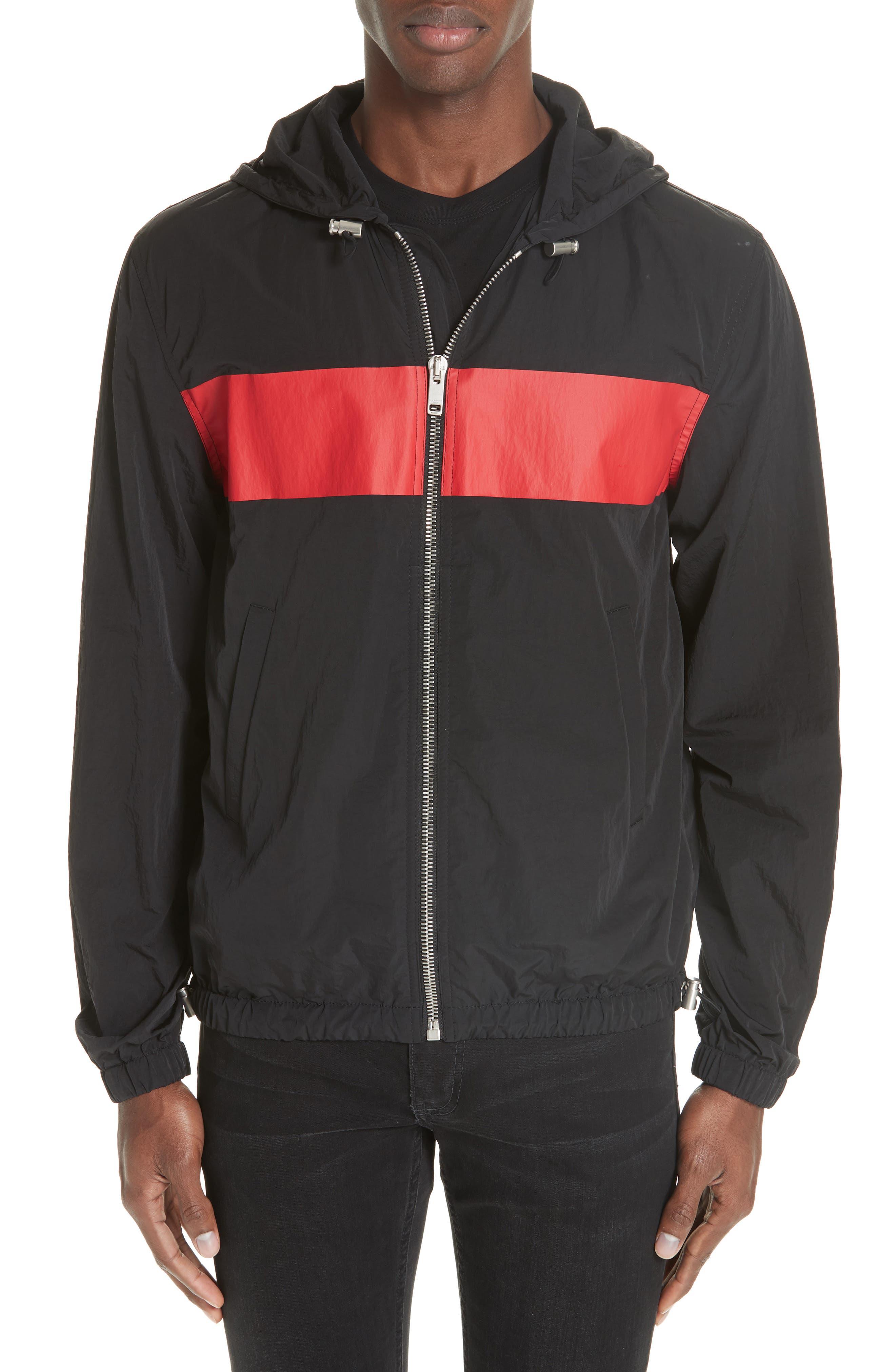 Motocross Windbreaker,                         Main,                         color, Black