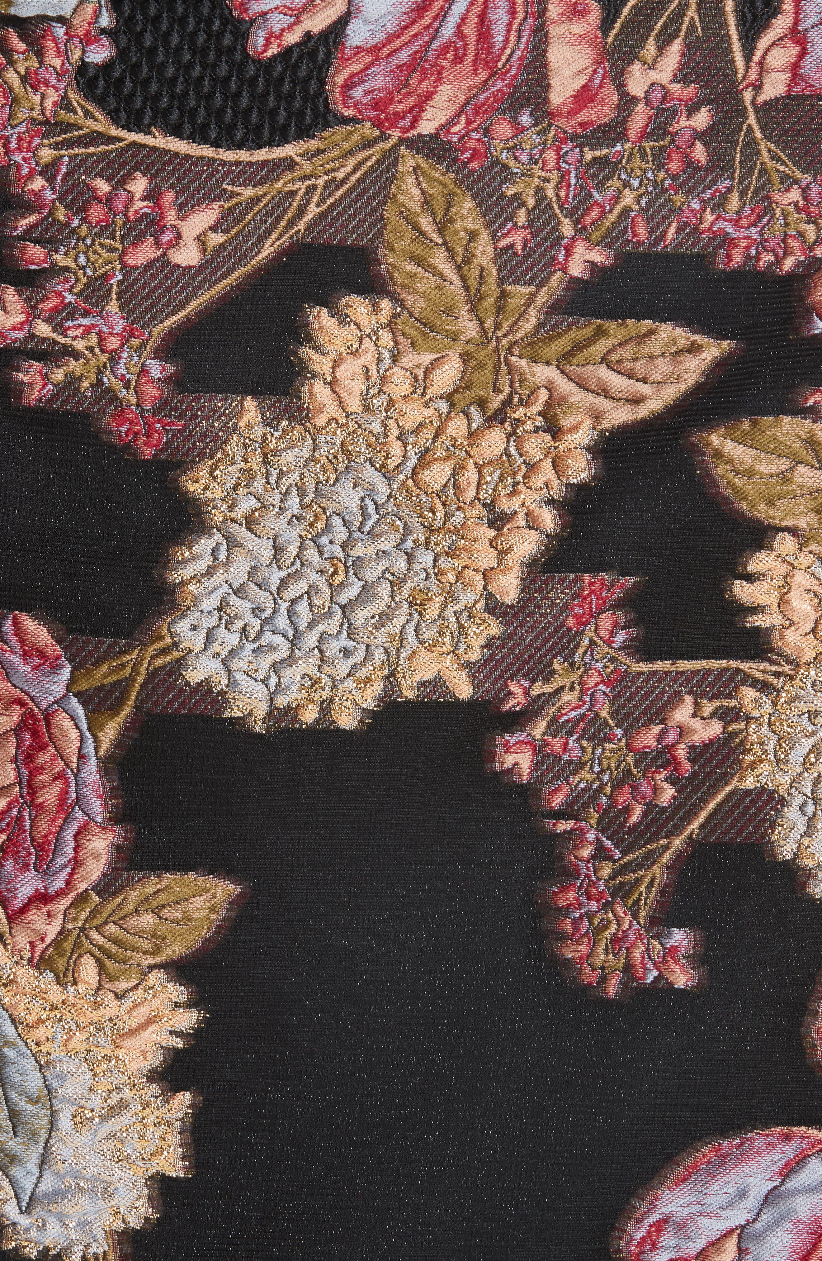 Habitat Fit & Flare Dress,                             Alternate thumbnail 3, color,                             Black