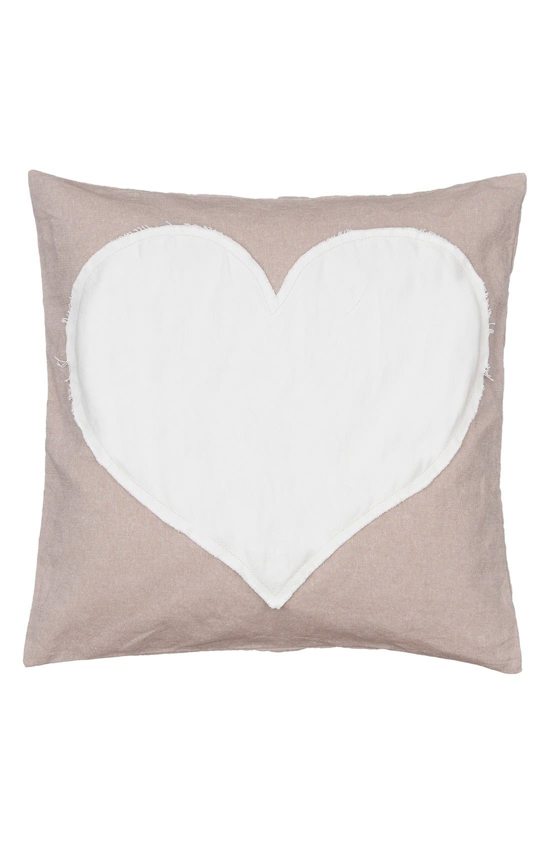 Alternate Image 1 Selected - Levtex Heart Accent Pillow