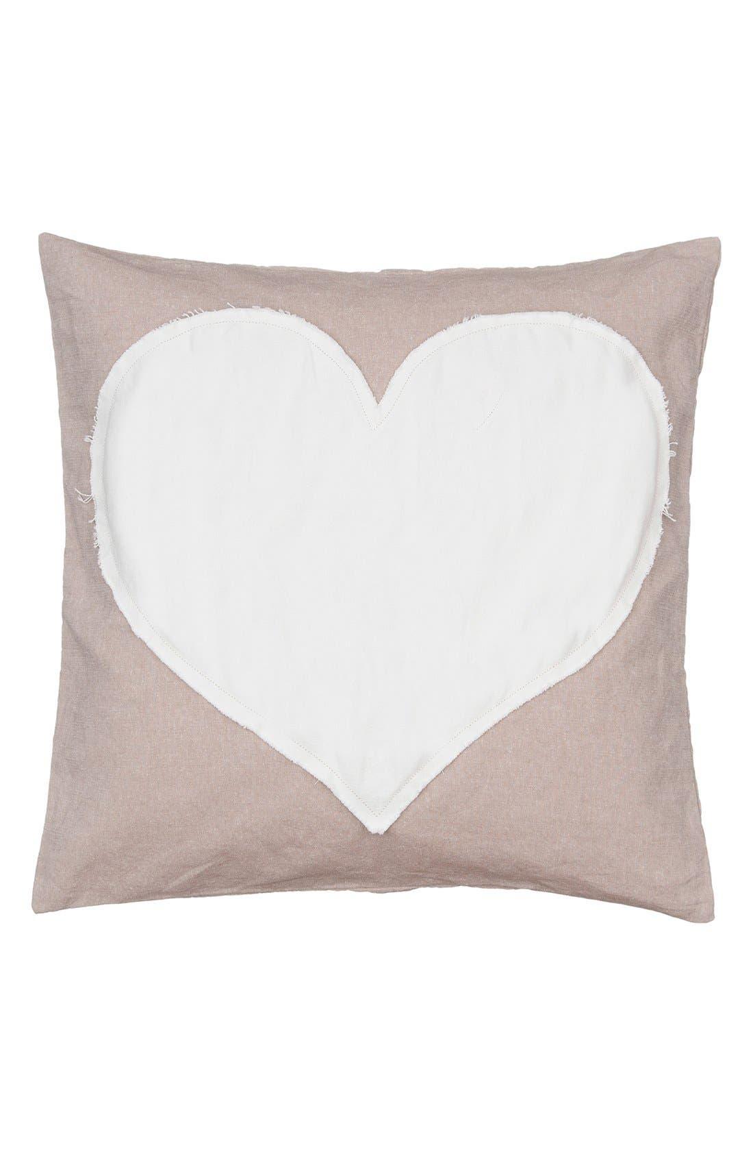 Main Image - Levtex Heart Accent Pillow