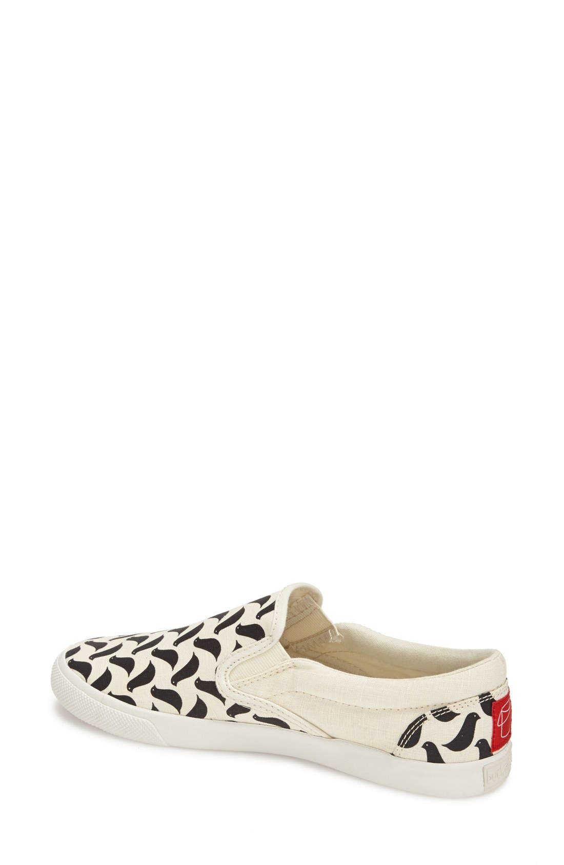 Alternate Image 2  - BucketFeet 'Birds' Slip-On Sneaker (Women)