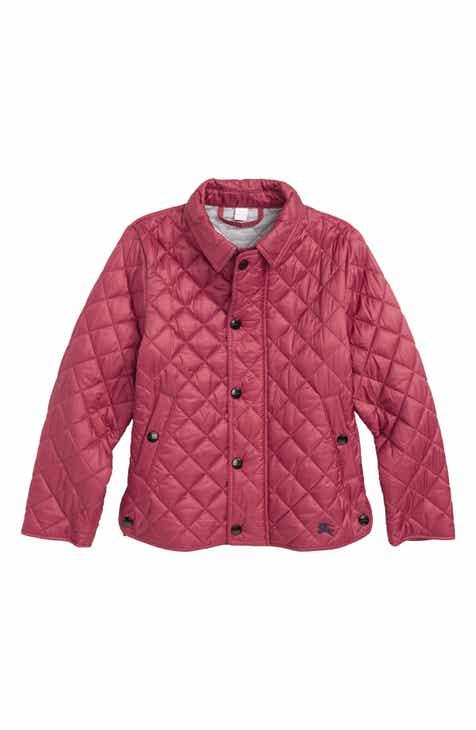 0b8a5d89a6a Burberry Lyle Diamond Quilted Jacket (Little Girls   Big Girls)